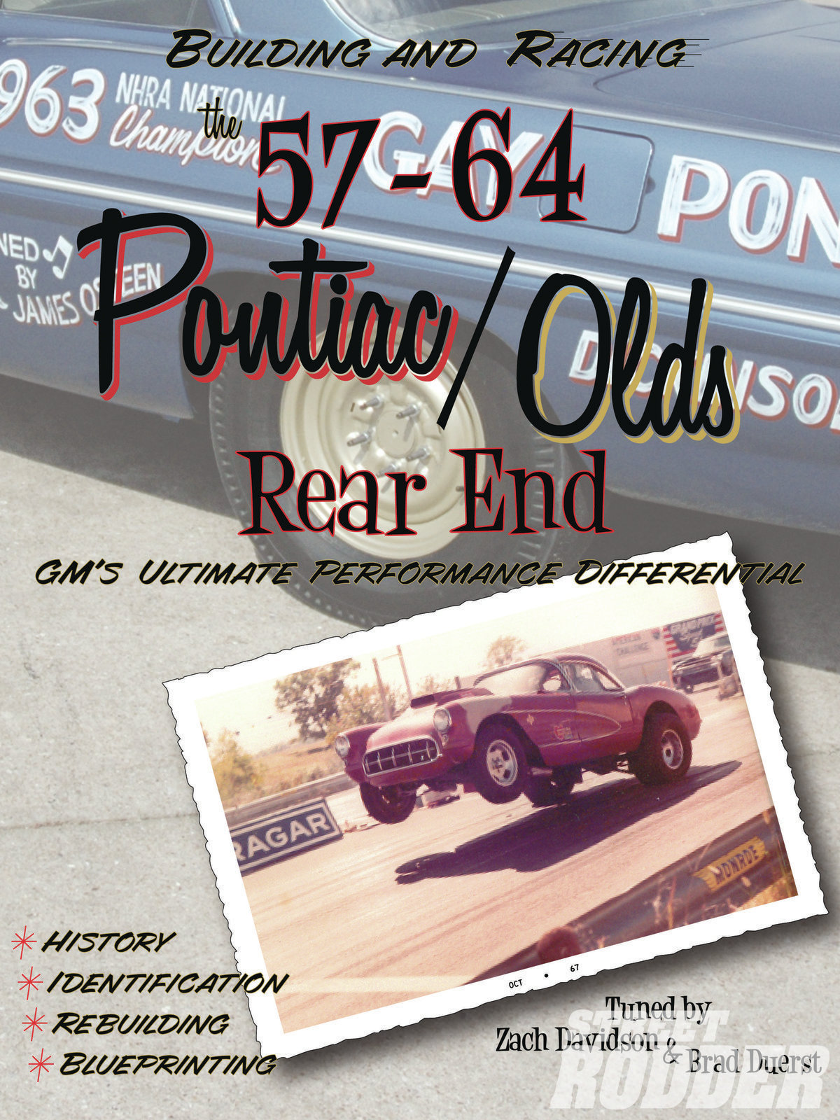 For complete information on Pontiac/Olds rearends this book from Fabcraft Metalworks by Zach Davidson and Brad Duerst is a must-have.