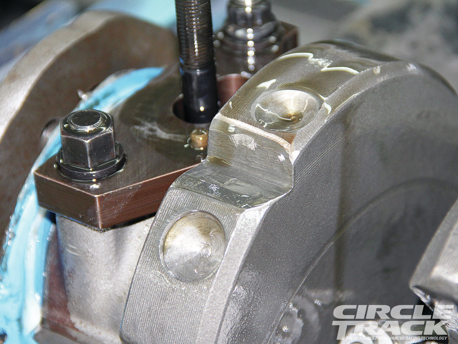 22. The decision hasn't been made yet, but we'll most likely ditch this crankshaft for a lighter piece.