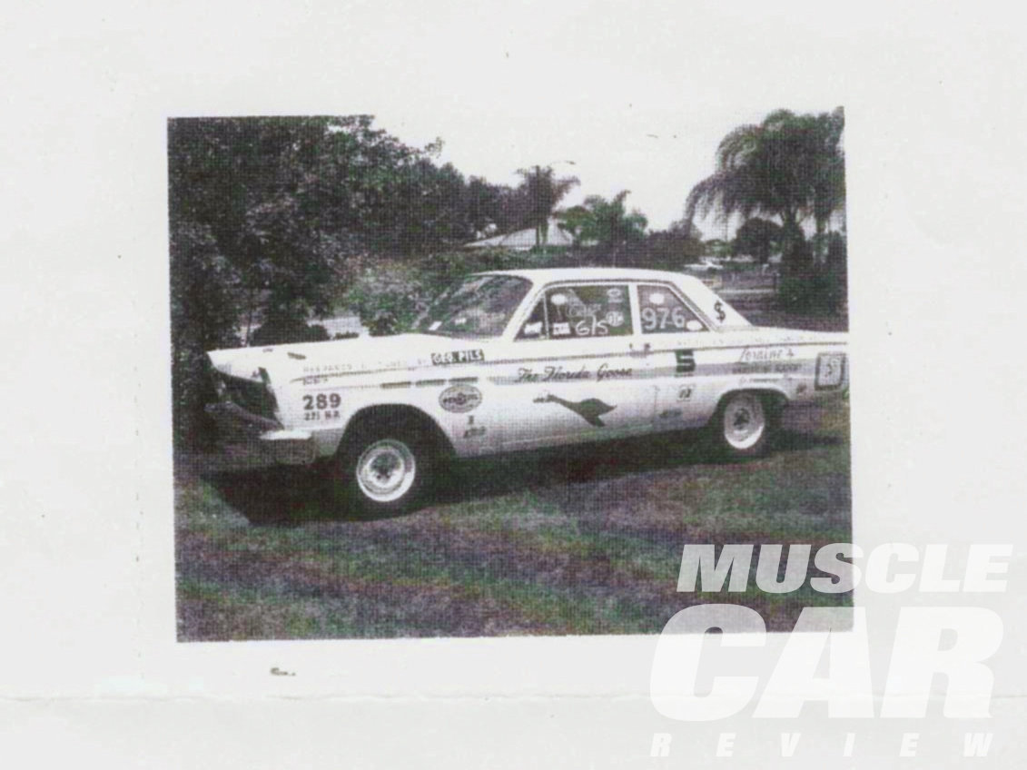 George Pils' Hi-Po Comet 202 was the first ordered, and raced under the name The Florida Goose. He won Stock Eliminator at the NASCAR-sanctioned Winternationals at South Florida's Palm Beach Raceway in 1967, setting a G/S record of 12.87. The same year, George made the final round in G/Stock at the NHRA nationals at Indy, losing to the eventual Stock Eliminator winner.