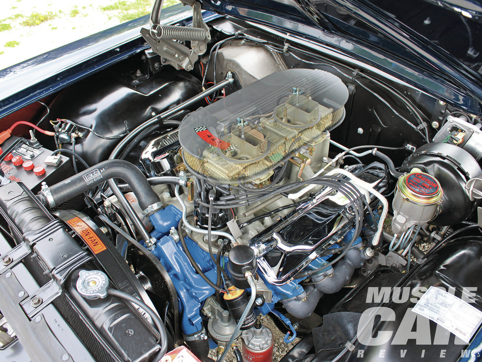 The 427 could idle in traffic or wind to a lofty redline. Later Ford performance engines were clearly aimed at street operation, but the 427 was loaded with premium performance parts. It was the most powerful, uncompromising engine Ford ever offered to the public.