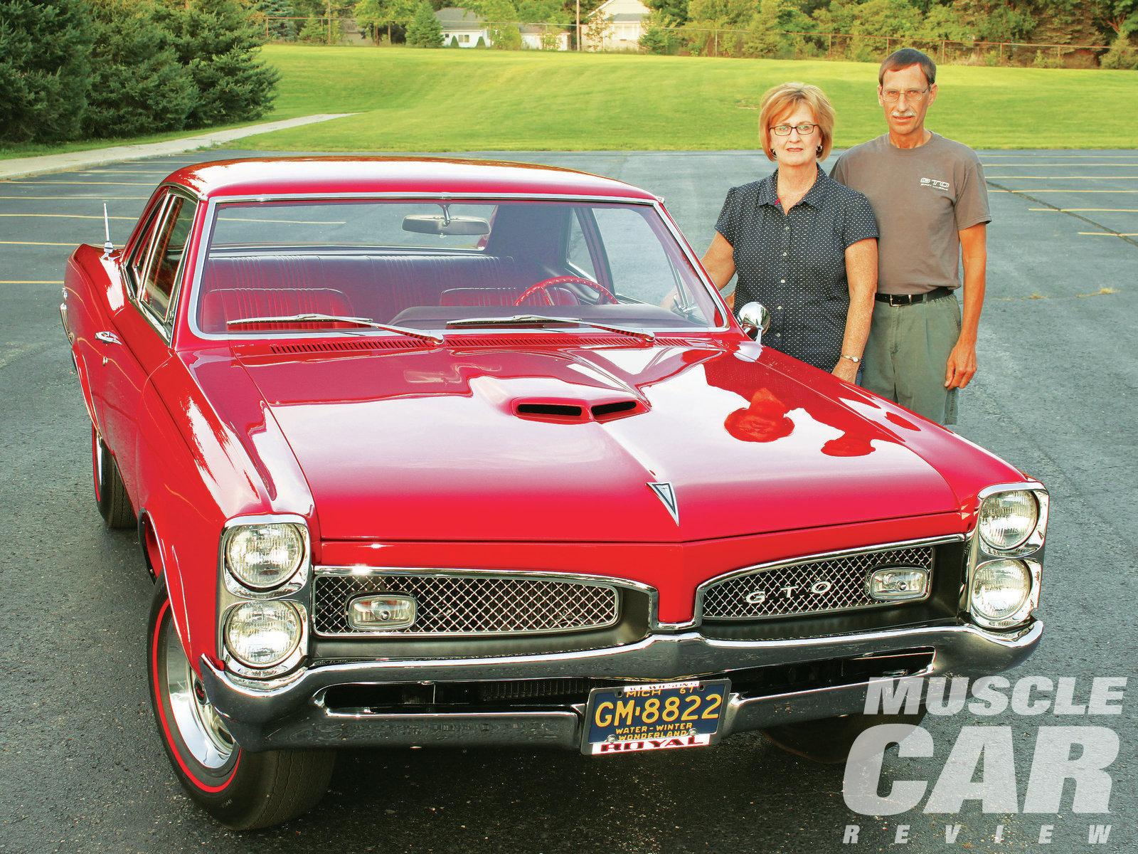 Dennis and Pat are enjoying their GTO all over again, as a show car now.