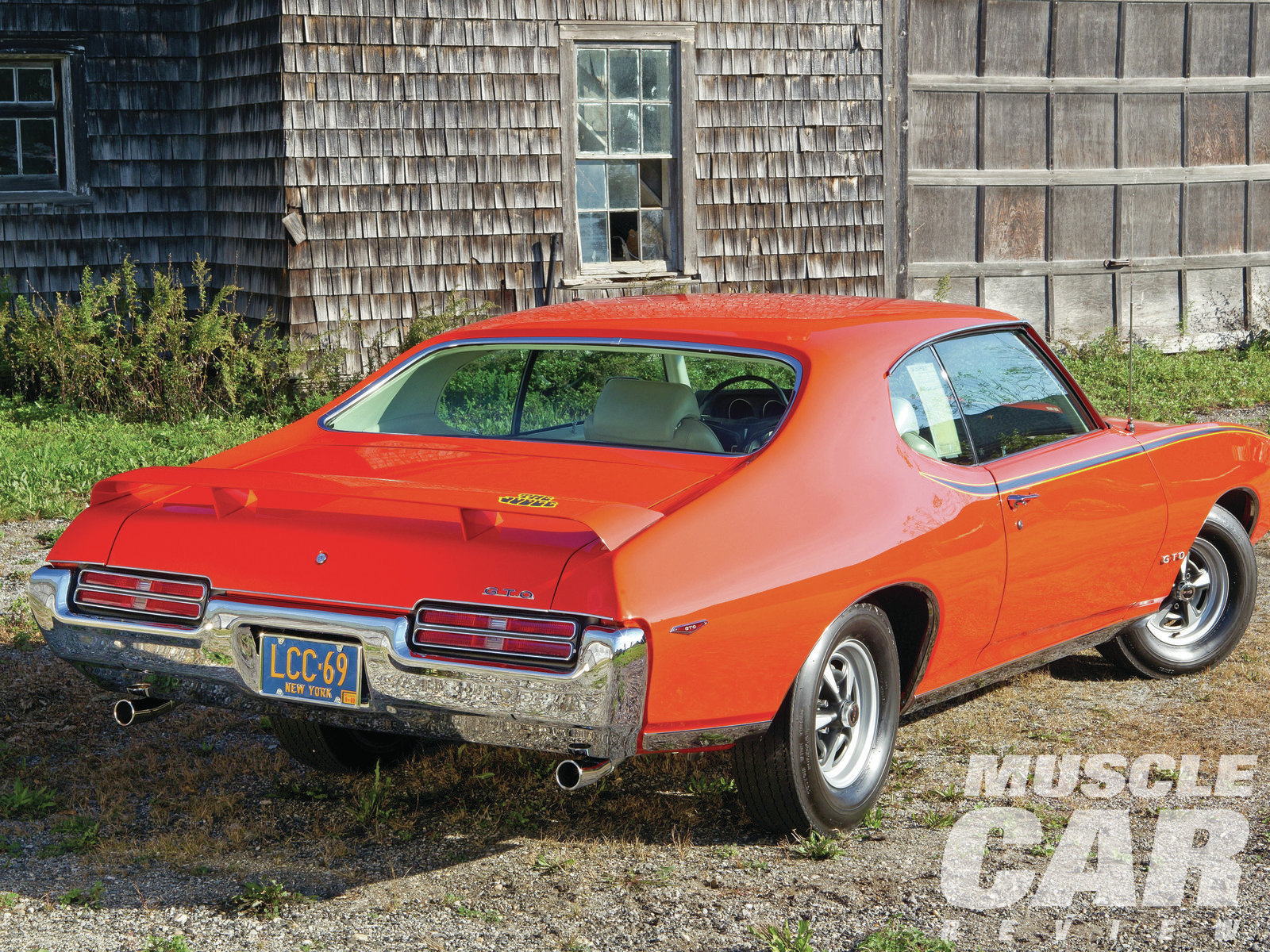 When Rich Dobbins bought the Judge in 2005, it was a 21,000-mile, all-original example of Pontiac's image car for 1969.