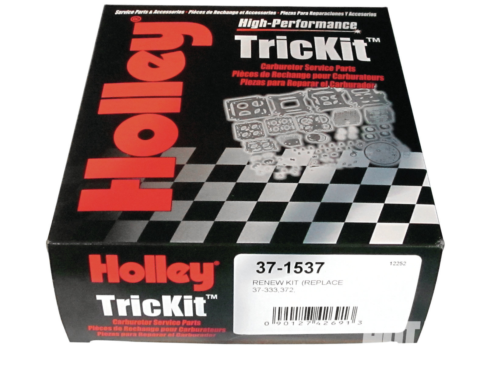 Holley still offers TricKit Renew rebuild kits. One is needed for each carb, for a total of three. If you're performing a lot of trial-and-error tweaks, Holley also sells several different tuner parts' assortment kits for its modular carbs.