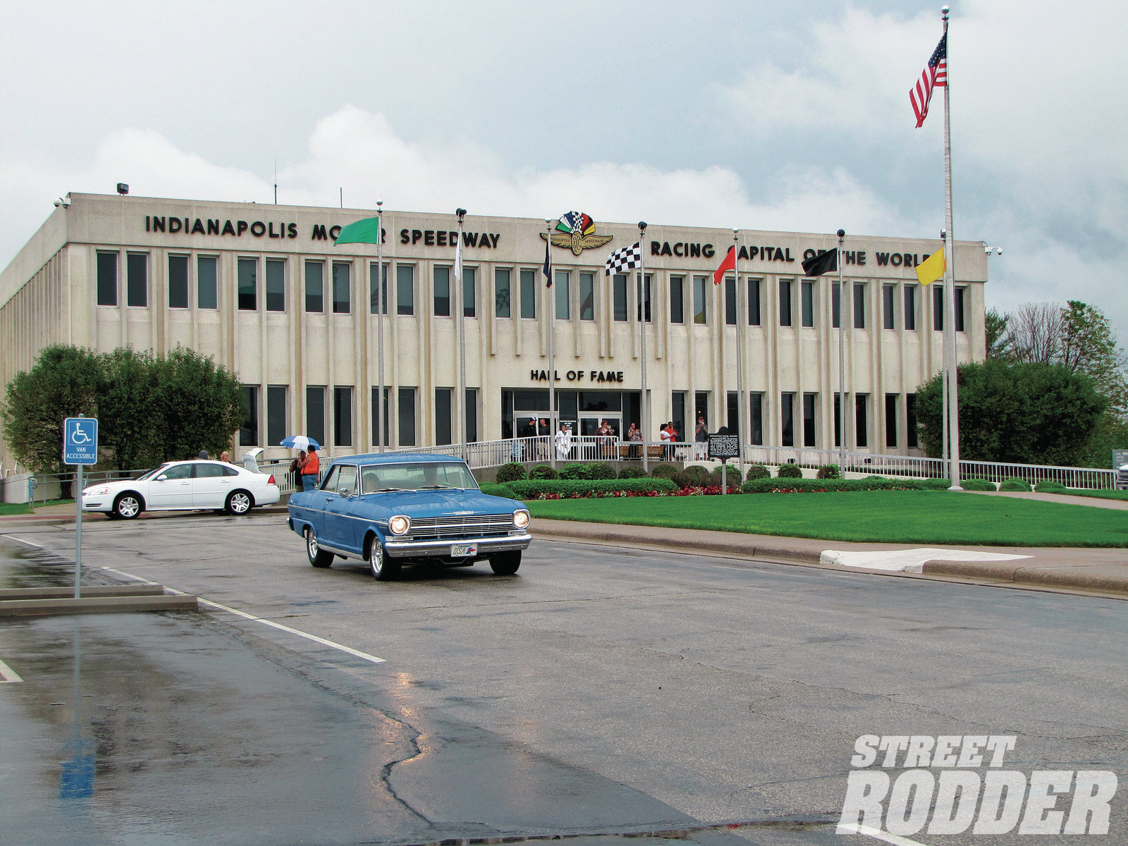 A rainy Sunday afternoon was the perfect time to visit the Indianapolis Motor Speedway. In the middle of the infield the Hall of Fame and Museum holds treasures that tell the story of this historic facility.