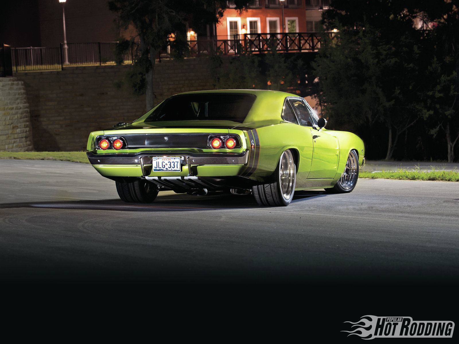 """Not only does the widebody treatment look mean, but kicking out the quarters creates tons of room for the monster 315mm-wide Nittos. As Steve puts it, """"By taking the widebody approach, you don't have to destroy the foundation of the car by tubbing it."""" Likewise, channeling the chassis means that there are no ugly suspension components hanging beneath the rockers."""