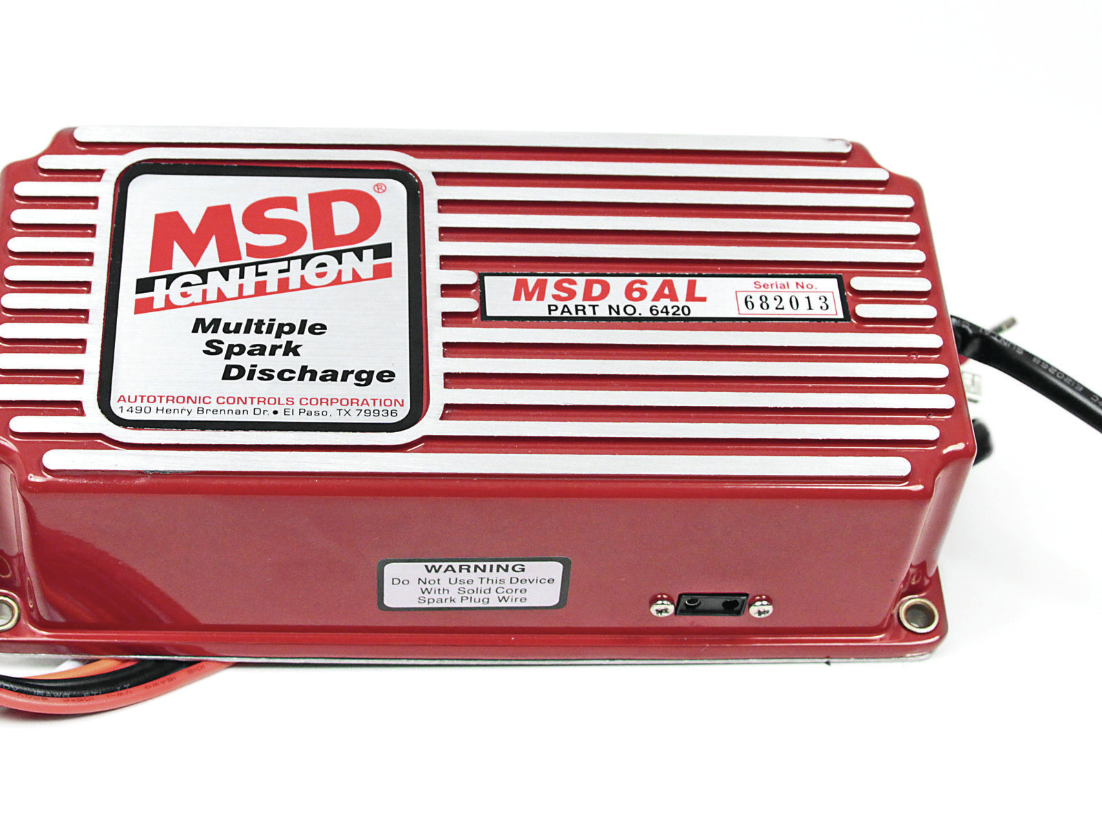 [Fake] Check the Components: Does it use the right fasteners, wires, and connections? Counterfeit, knock-off, and copycat parts have become a plague on the automotive performance industry. Can you tell which of these MSD 6AL ignition boxes is the fake? Turn the page to find out!