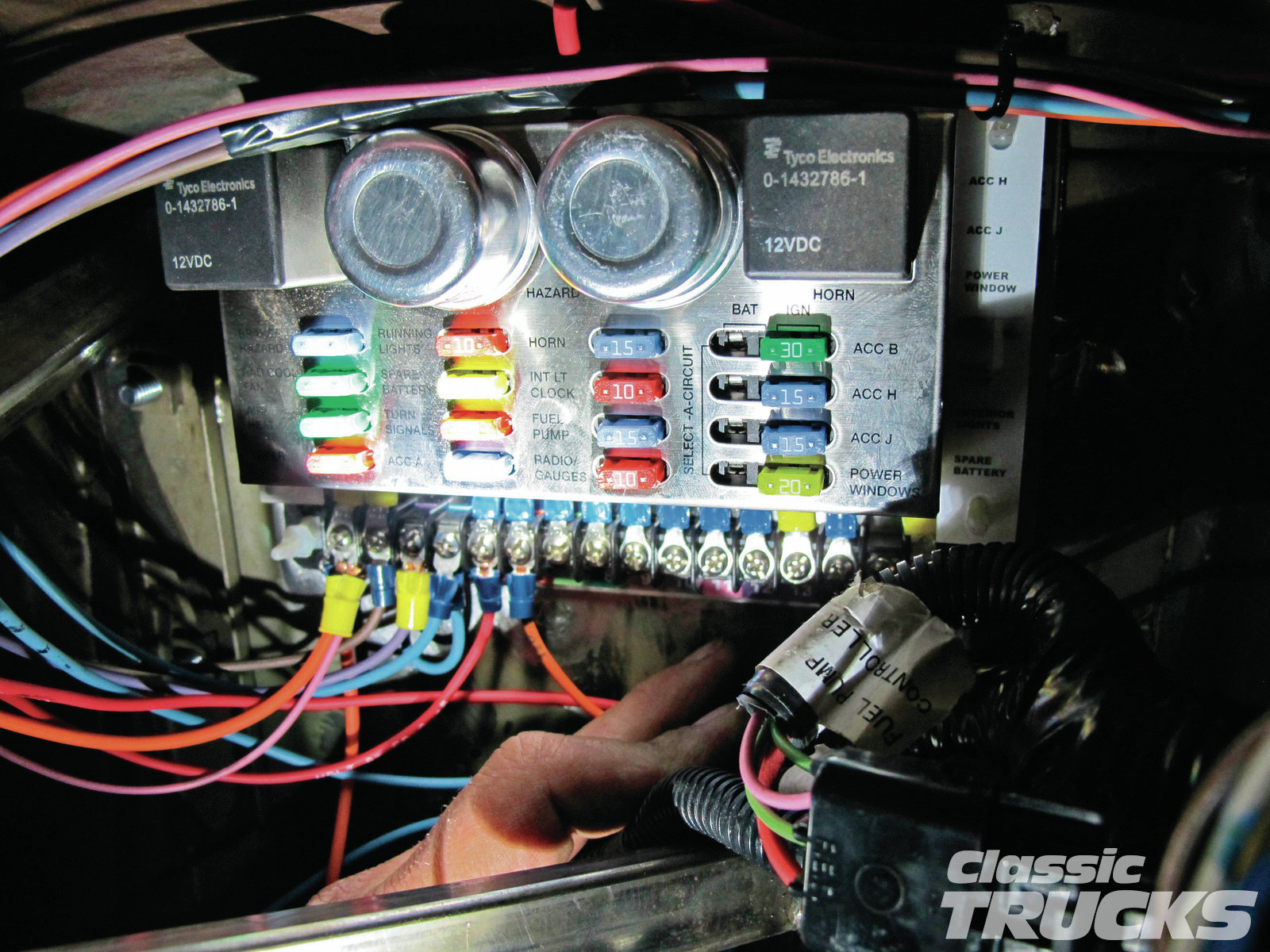 11. A good starting point is at the fuse panel, then run the wires out to the accessory.