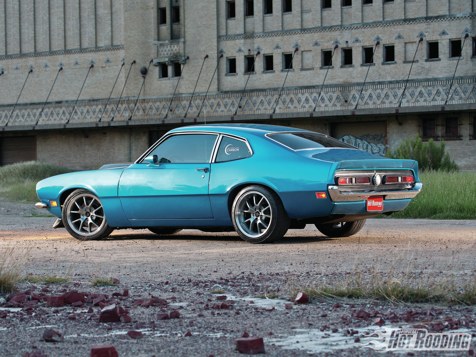 1972 Ford Maverick Some Kinda Blue Hot Rod Network Wiring Harness Kits By The Numbers