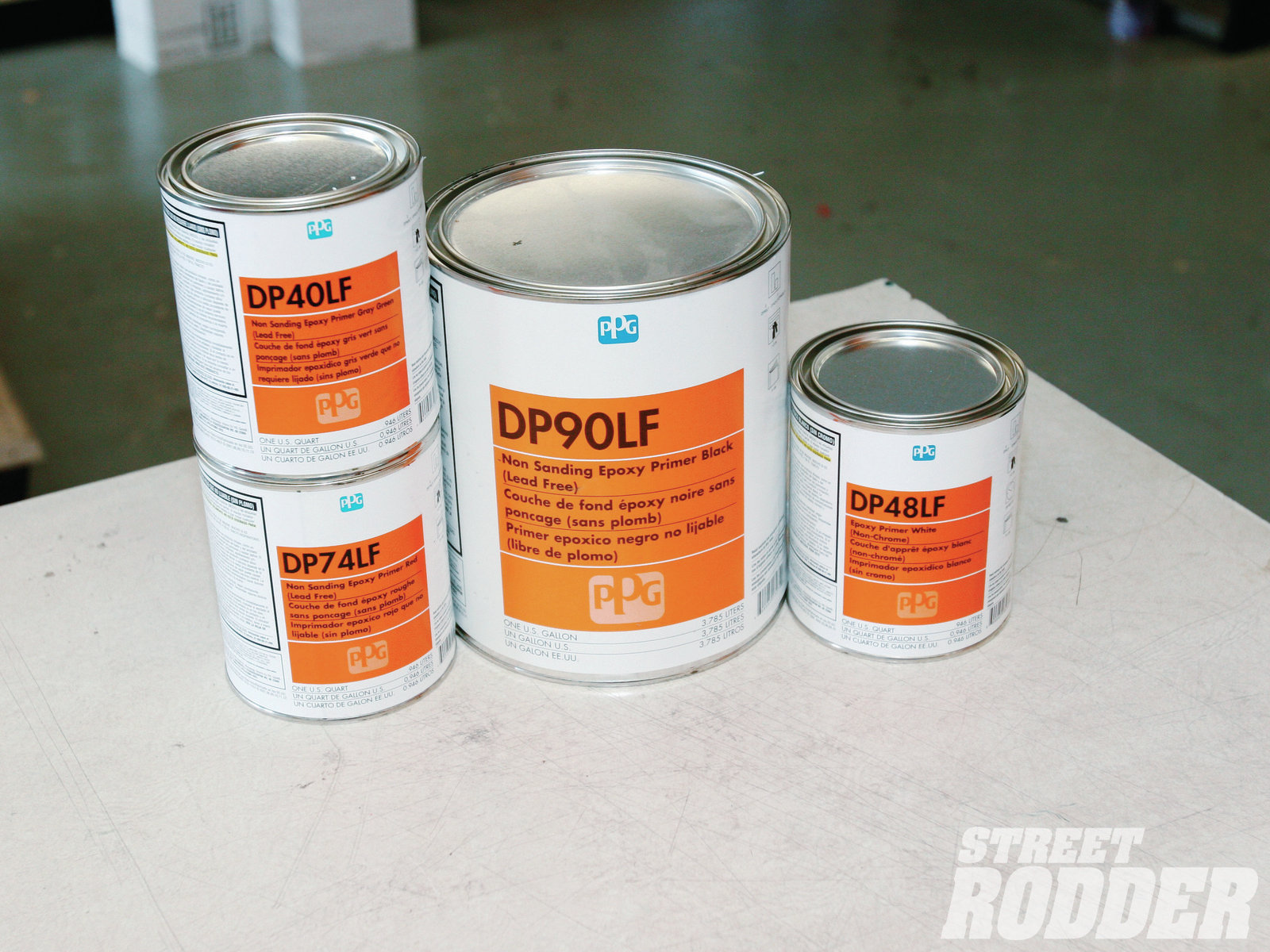 The DPLF epoxy primers are applied direct to prepared metal. They have excellent corrosion resistance and are unique as they can be used as a primer and a sealer. Available in a variety of colors, the LF stands for lead free.