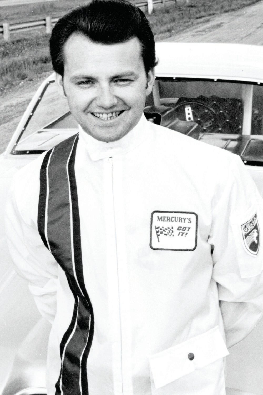 Fast Eddie Schartman from Cleveland, Ohio, was a favorite at Lincoln-Mercury Division because he was willing to do the auto show circuit, the dealer show circuit, and anything else the factory asked of him in between racing his Comet A/FX cars, and Comet and Cougar Funny Cars between 1964 and 1972, when the factory pulled the plug on racing. He's the last surviving Comet F/C pilot and, today, owns several dealerships in the Cleveland metro area.
