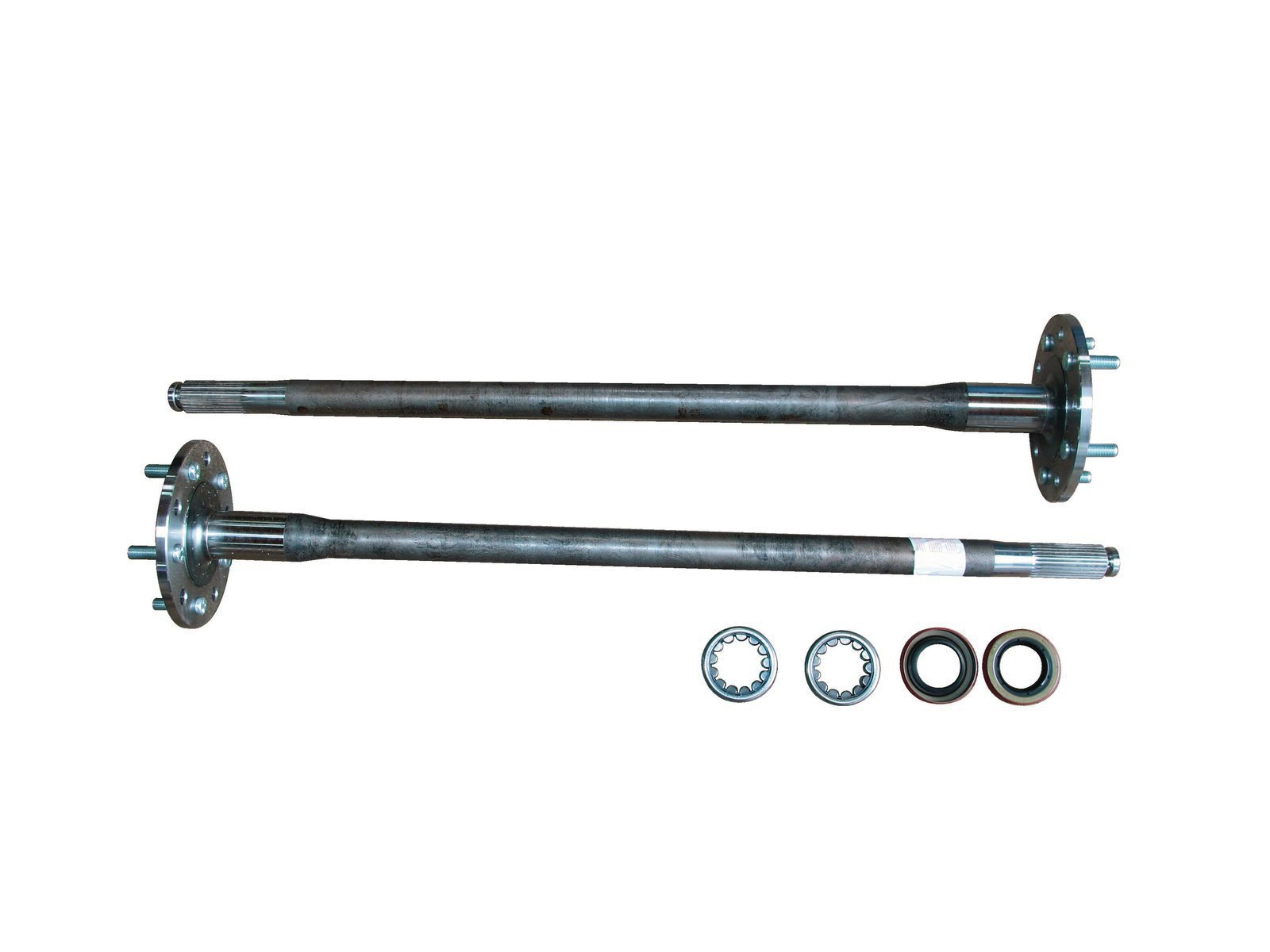 3. High-strength axles, such as these from Moser Engineering (#A3079GMTK), are a wise update. Axle wear can be an issue as the shafts act as an inner wheel bearing race and are in direct contact with rollers.