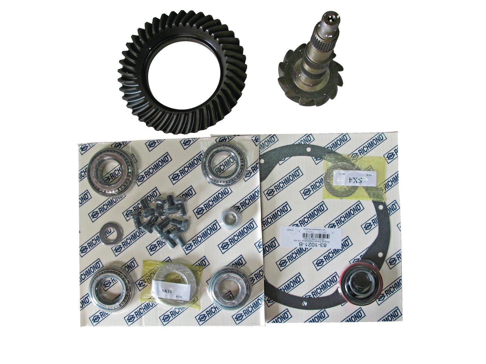 2. Summit can supply all the parts necessary to make an 8.5 better than new. There are a variety of ratios available, GM offered gear sets ranging from 2.40:1 to 4.10:1.