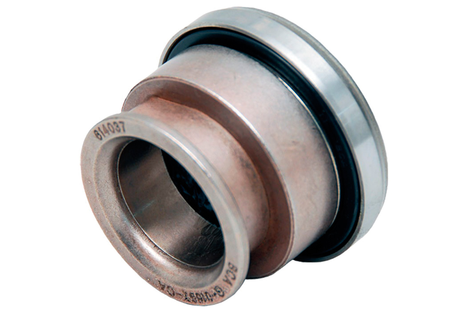 [05] Throwout bearings are the link between the pressure plate and the clutch pedal. This particular throwout bearing is a non-hydraulic style bearing that requires a clutch fork and slave cylinder to work.