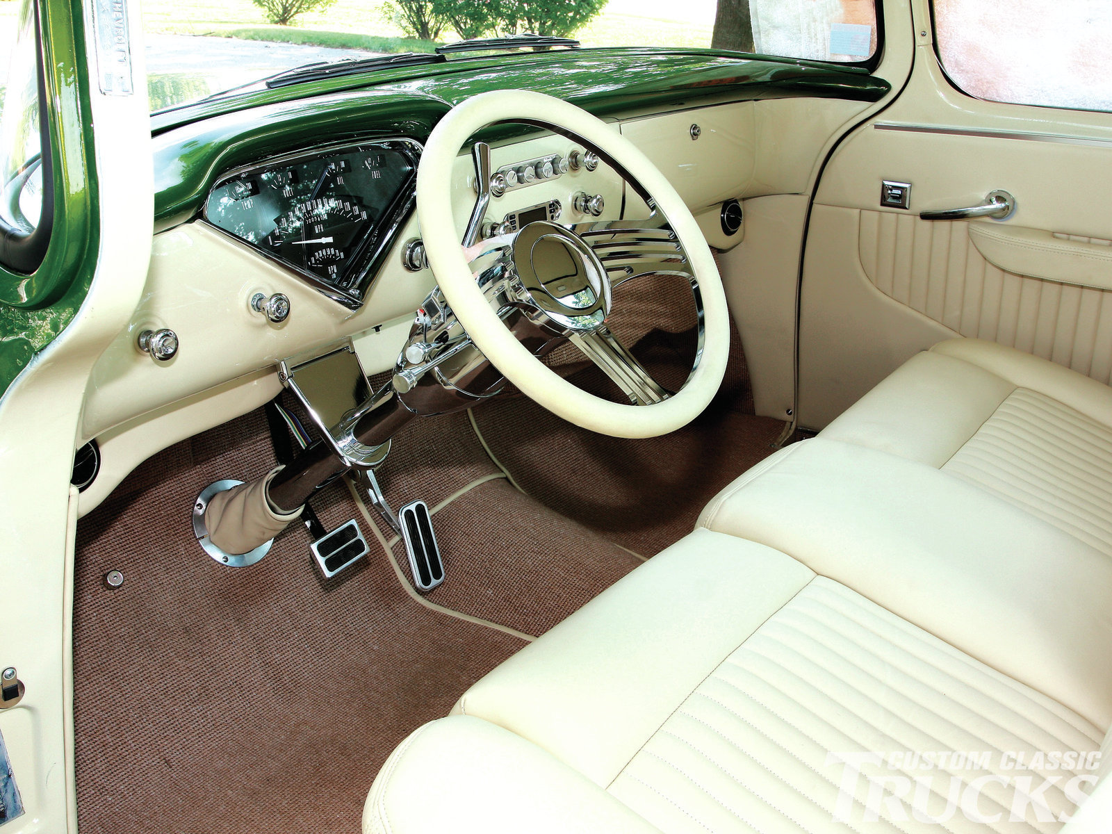 1956 Chevy Truck - Emerald Beauty - Hot Rod Network on