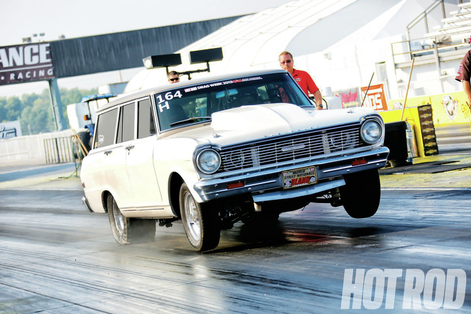 If it weren't for the twin turbos behind the grille, Rick's Nova would be quite the sleeper.