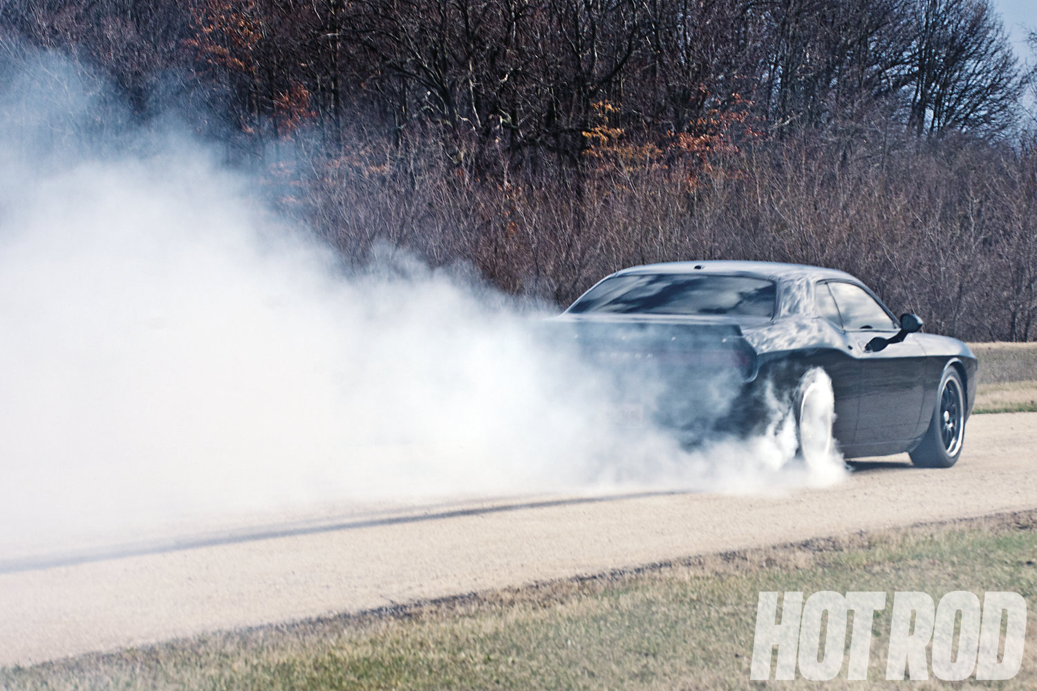 With Dana 60 gears and subtle rear suspension tweaks, tire smoking is no longer hazardous to the Challenger's health.