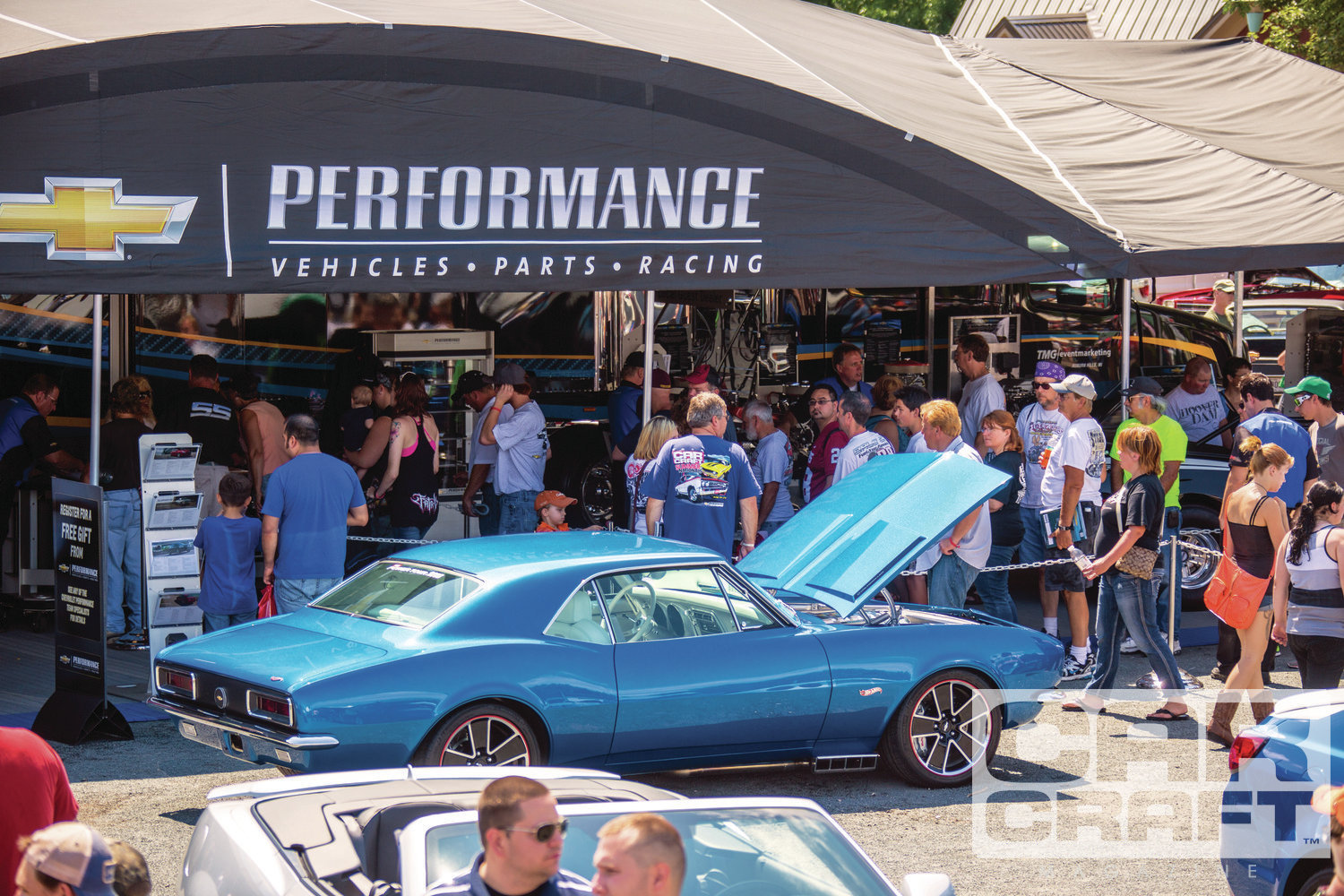 At the show, we had plenty of events and attractions to keep attendees entertained. Chevrolet Performance brought its newest developmental and production vehicles.