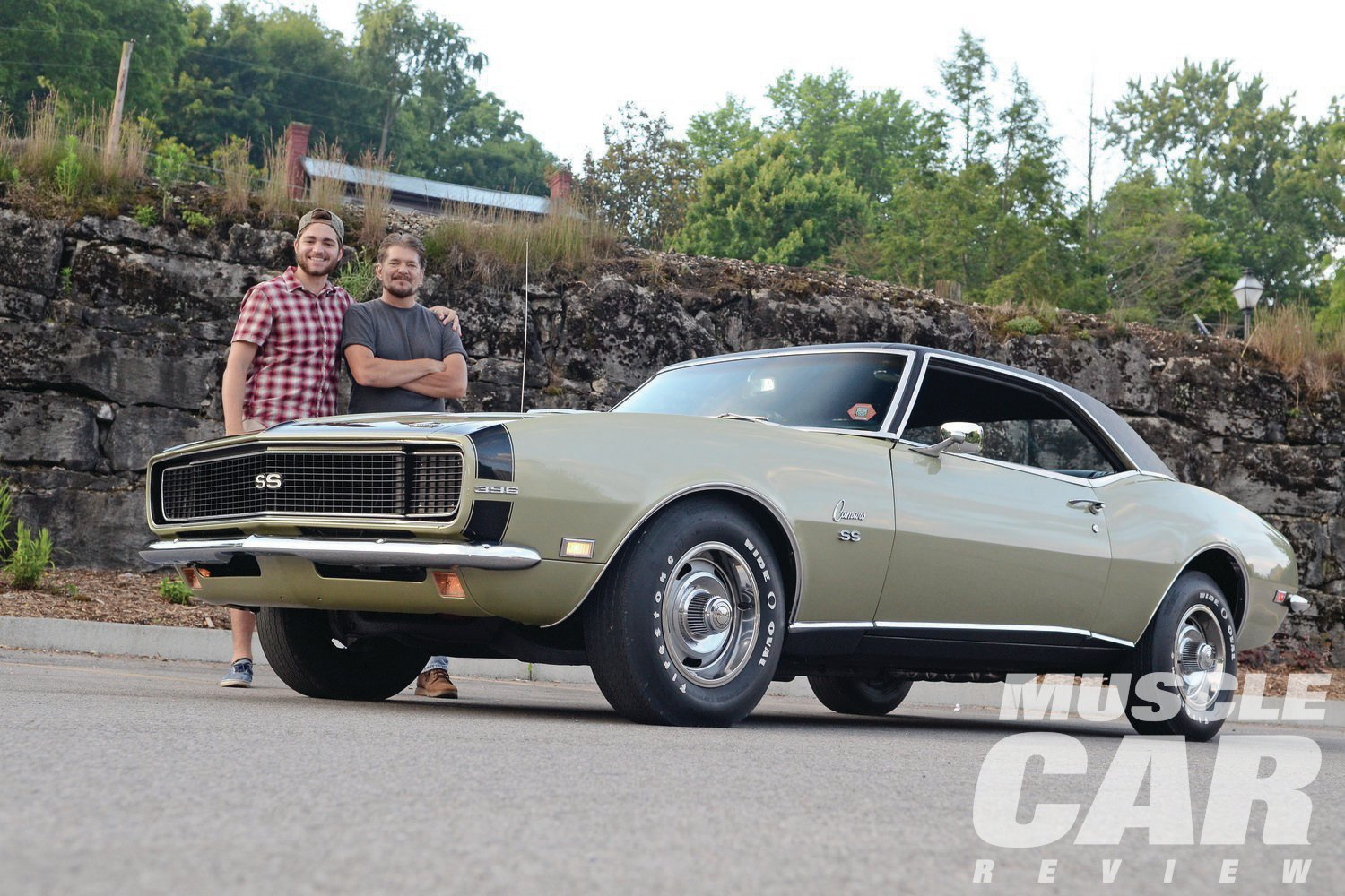 The Mathesons don't get to work on car projects much anymore, but the bond they forged over this Camaro is obvious and long lasting.