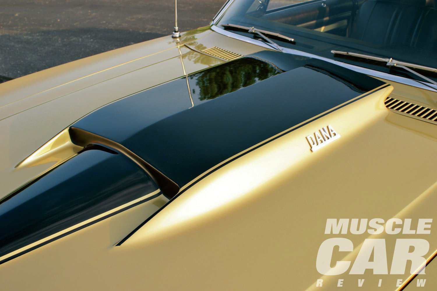 While the badging might have been subtle, the fiberglass Stinger hood was anything but.