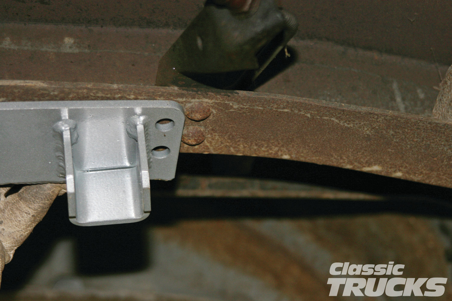 6. Keep the air hammer out because you will have to remove several more rivets that are in the way of the kit.