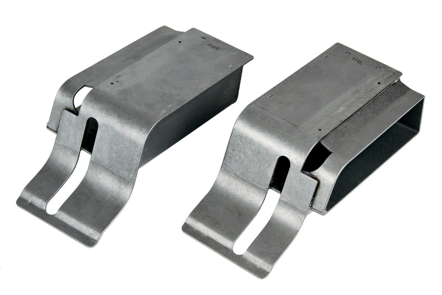 2. The rear of the DSE subframe connectors attach to DSE torque boxes that are included with the QuadraLink rear suspension system. The torque boxes are available separately (PN 010107) for Mustangs that aren't equipped with the QuadraLink suspension.