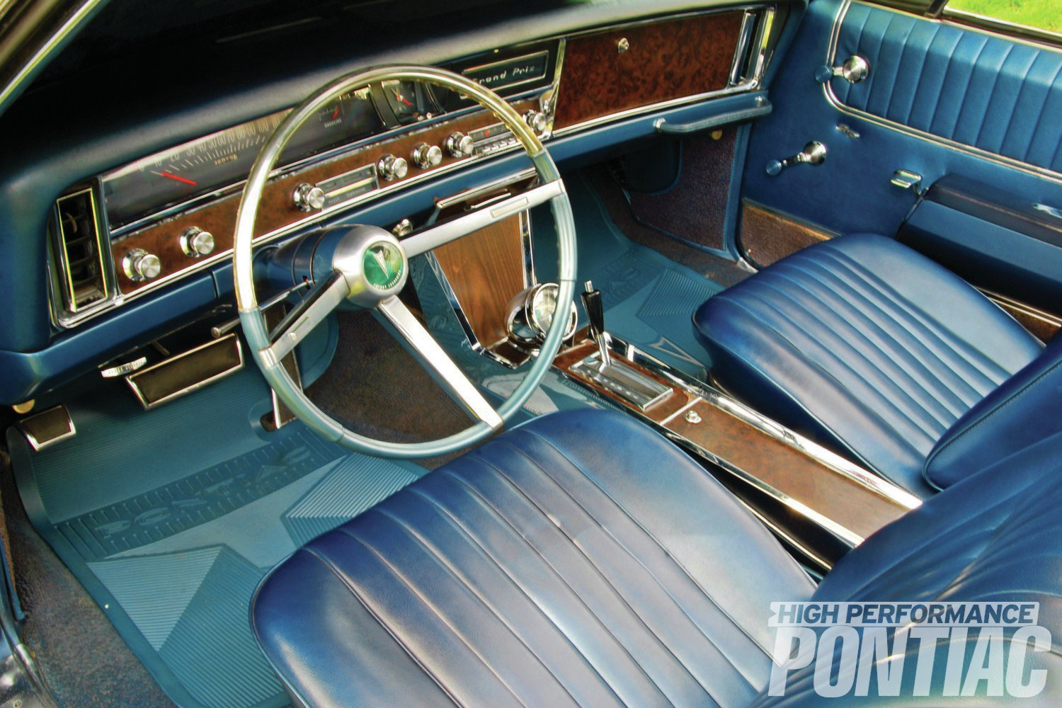 This is the original born-with interior. Only the floor mats are reproductions.