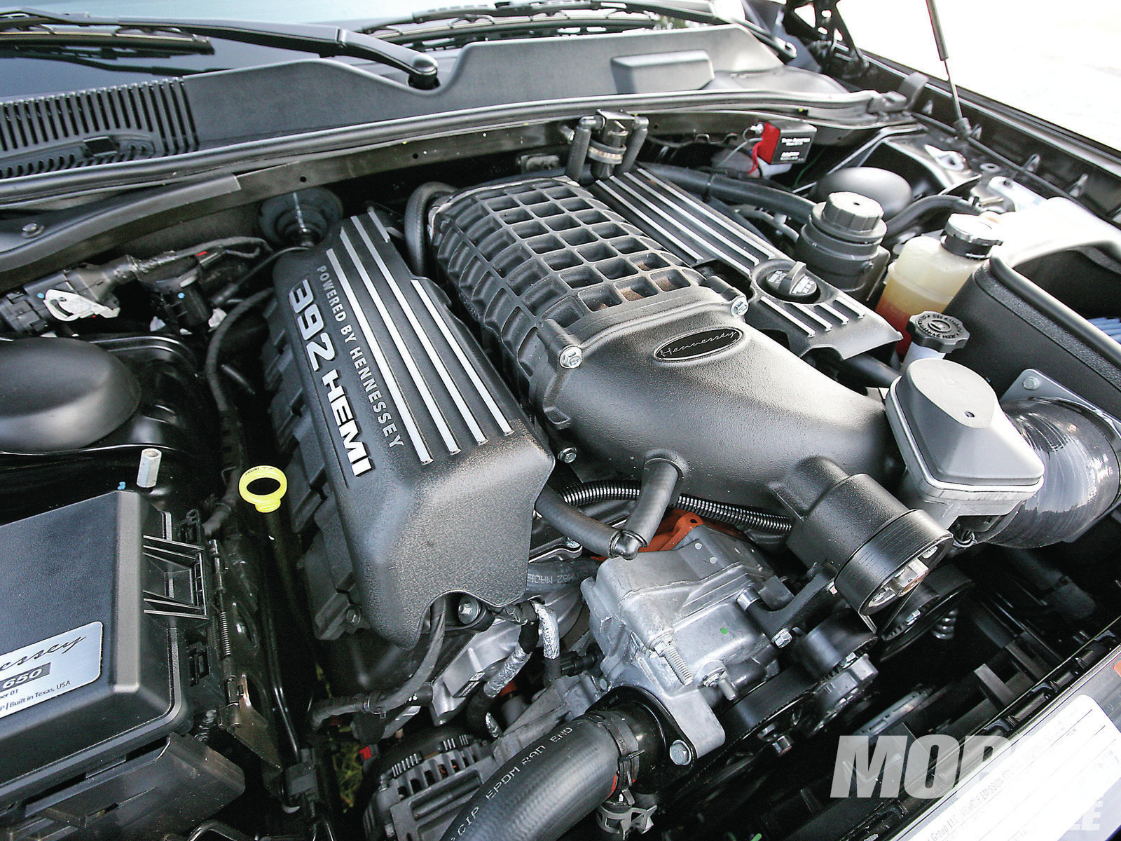 If an SRT is quick, what happens if you add some parts from Hennessey? If we have to tell you…