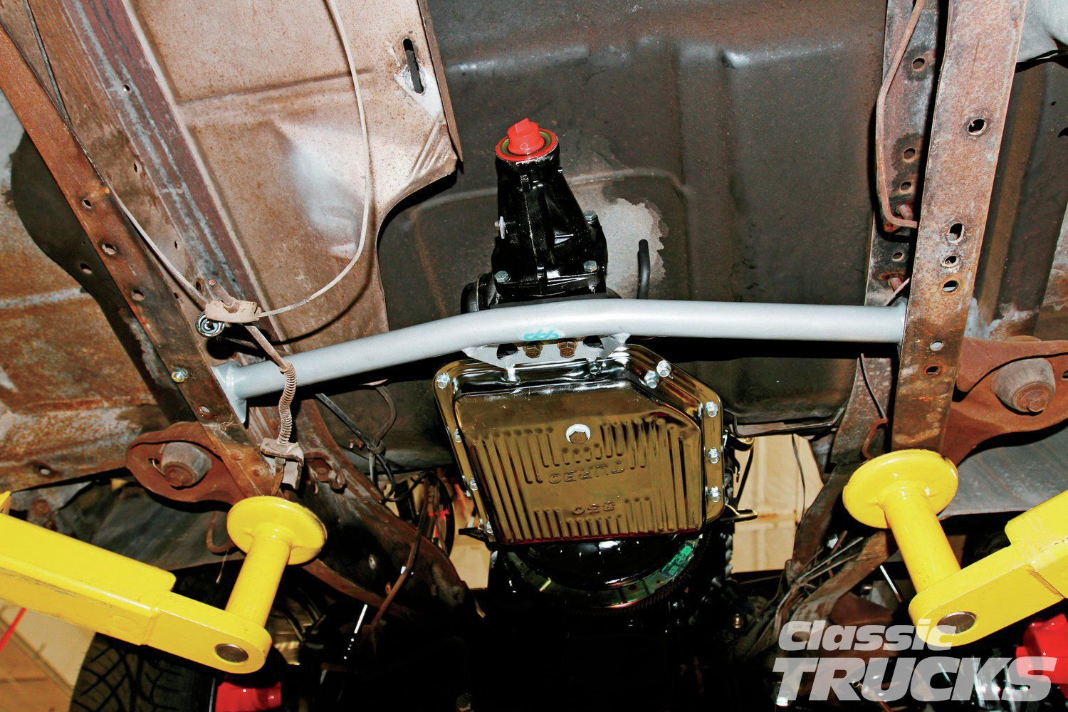 11. Another thing to think about is using a CPP transmission crossmember so that dual exhaust can be used.