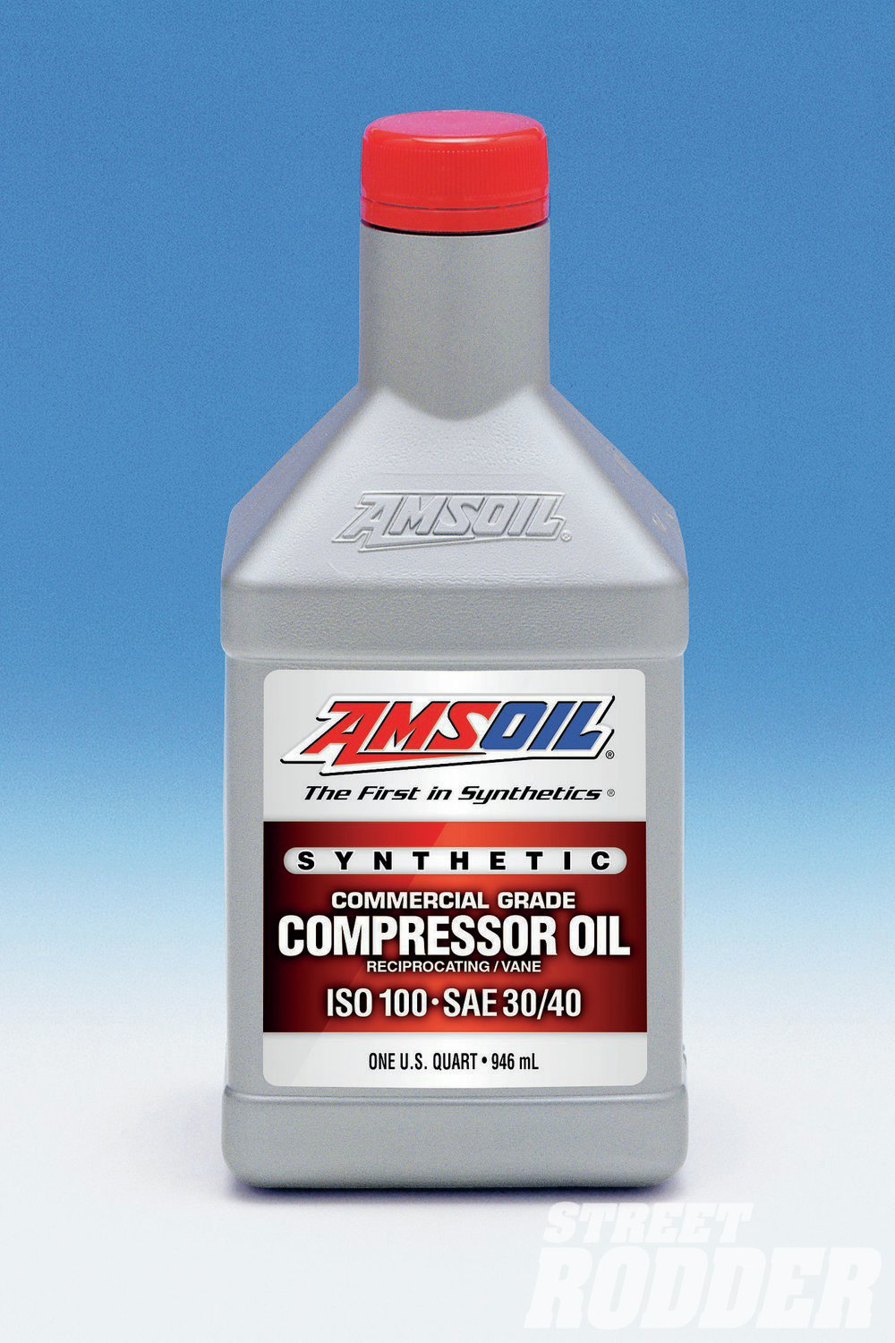 1. The extreme demands of sandblasting will destroy a poorly serviced air compressor. To avoid problems I refilled with AMSOIL Inc., a commercial grade synthetic oil specified for air compressors. Don't overfill, as it causes oil contamination in the air supply.