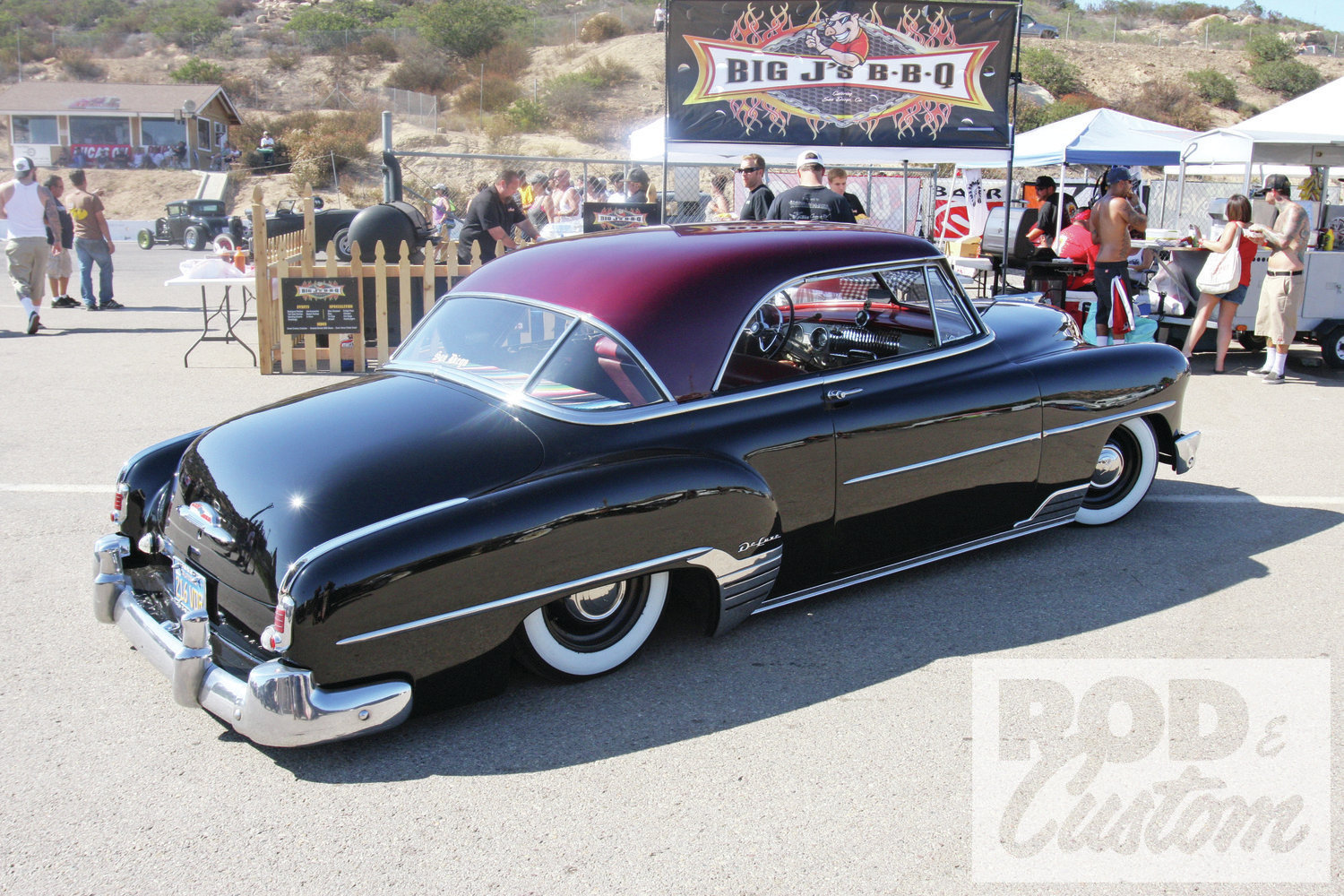 Classy Chevy hardtop proves mild customs can be killer too!