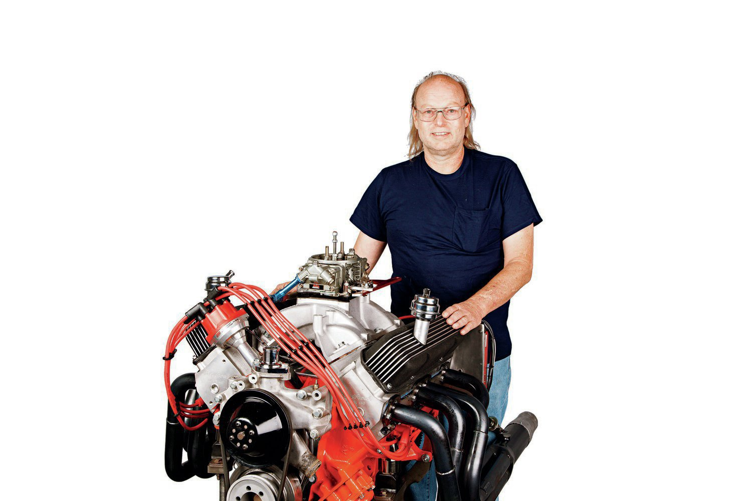 Clark Hinkle fielded this 412 Mopar in the Street Division of the 2012 AMSOIL Engine Masters Challenge. Problems in competition prevented the engine from reaching its full potential at the event, but the engineering and craftsmanship was evident to all.