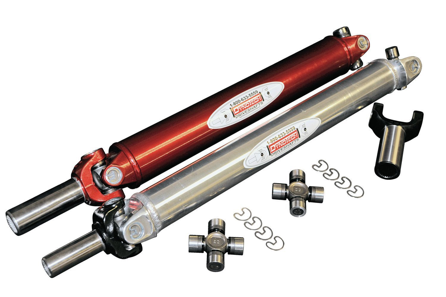 A race quality driveshaft is not only stronger than a typical OEM shaft, but also balanced much more precisely because the very high rpm levels a race car sees can greatly magnify the effects of any vibration.