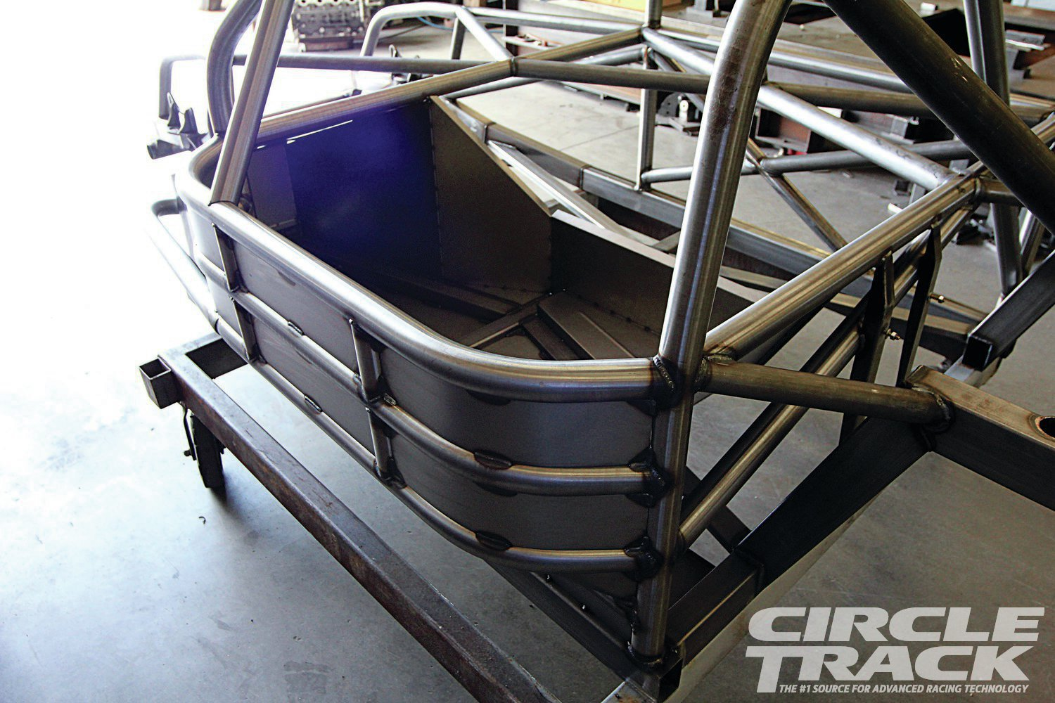 20. All the gaps on the driver-side of the 'cage are plated better protection.