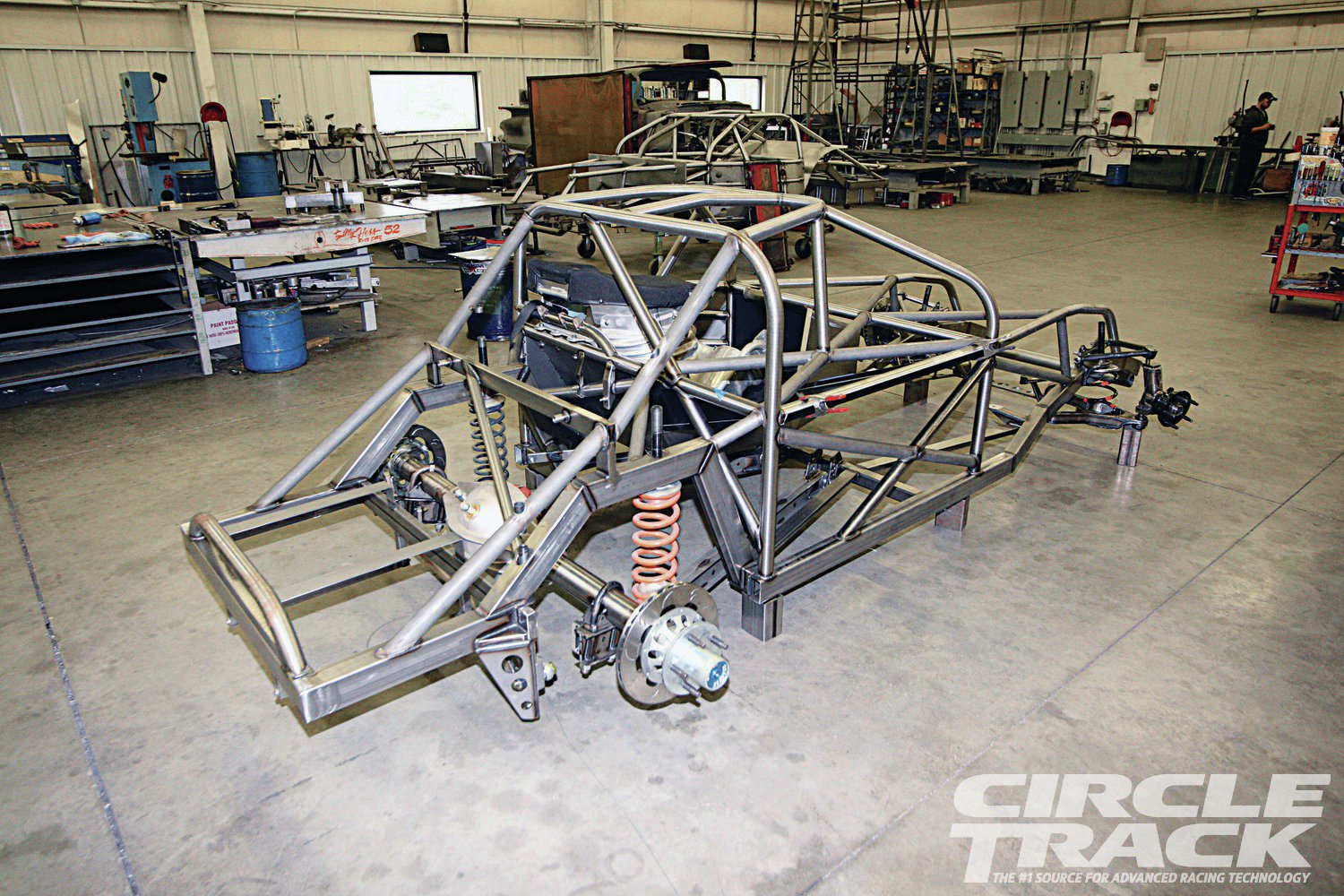 28. The next step in the construction of this brand-new Super Late will be hanging the body, which we will cover in a future issue of Circle Track. So make sure to stay tuned.