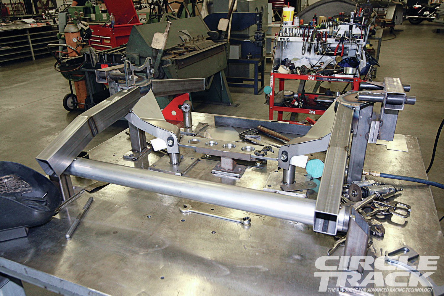 10. Here's a closer look at the nearly complete front clip.