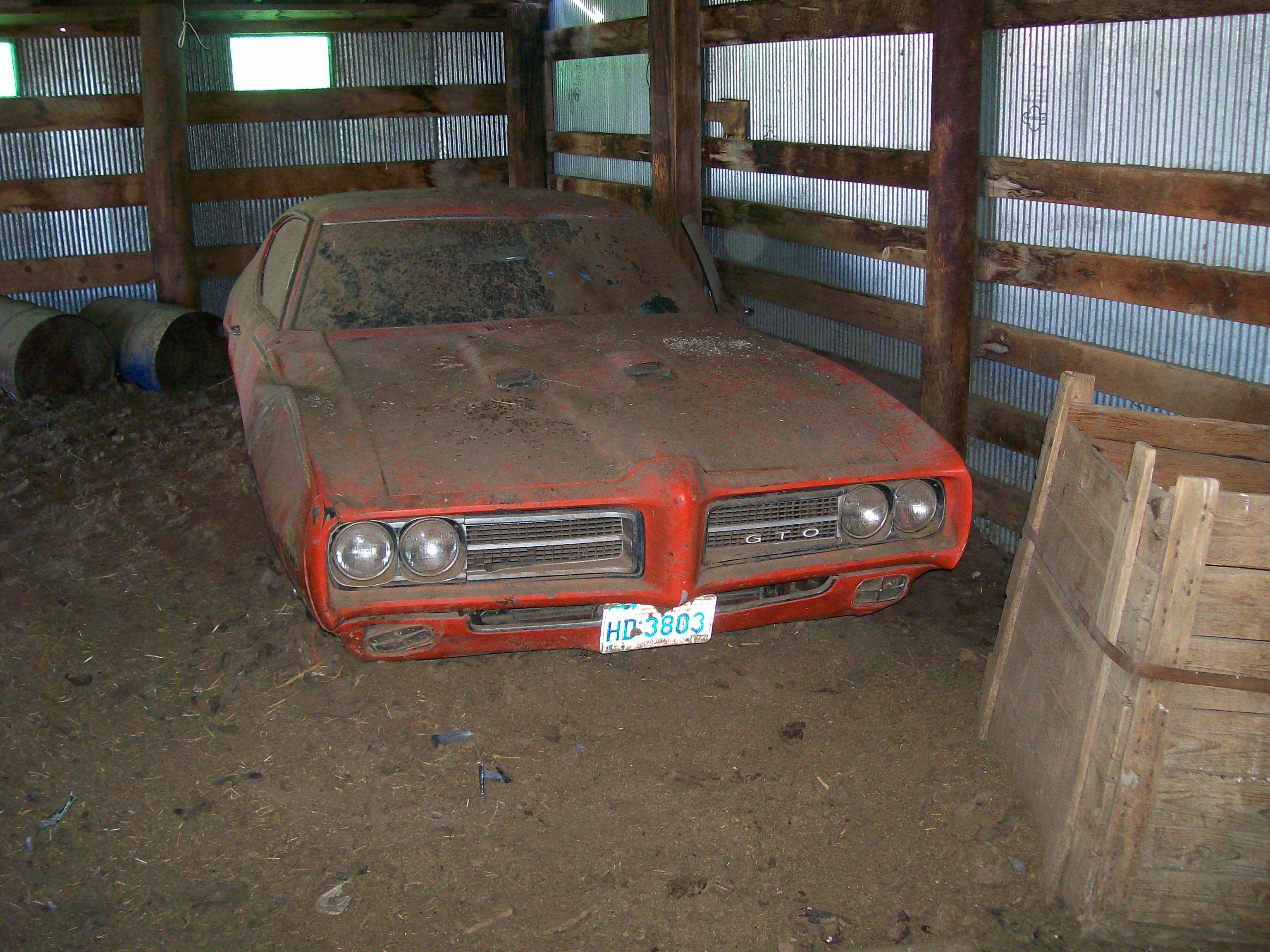 What's behind the barn door? Sakes alive, it's a '69 GTO Judge—one of 6,833 produced that model year and one of the hottest collector cars in the muscle-car hobby today.