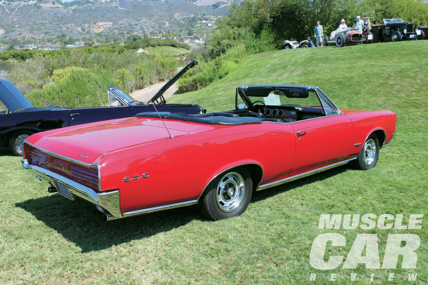When I saw Dave Stokol's GTO at the Palos Verdes Concours, little did I know the special relationship it had with the Kennedy family.