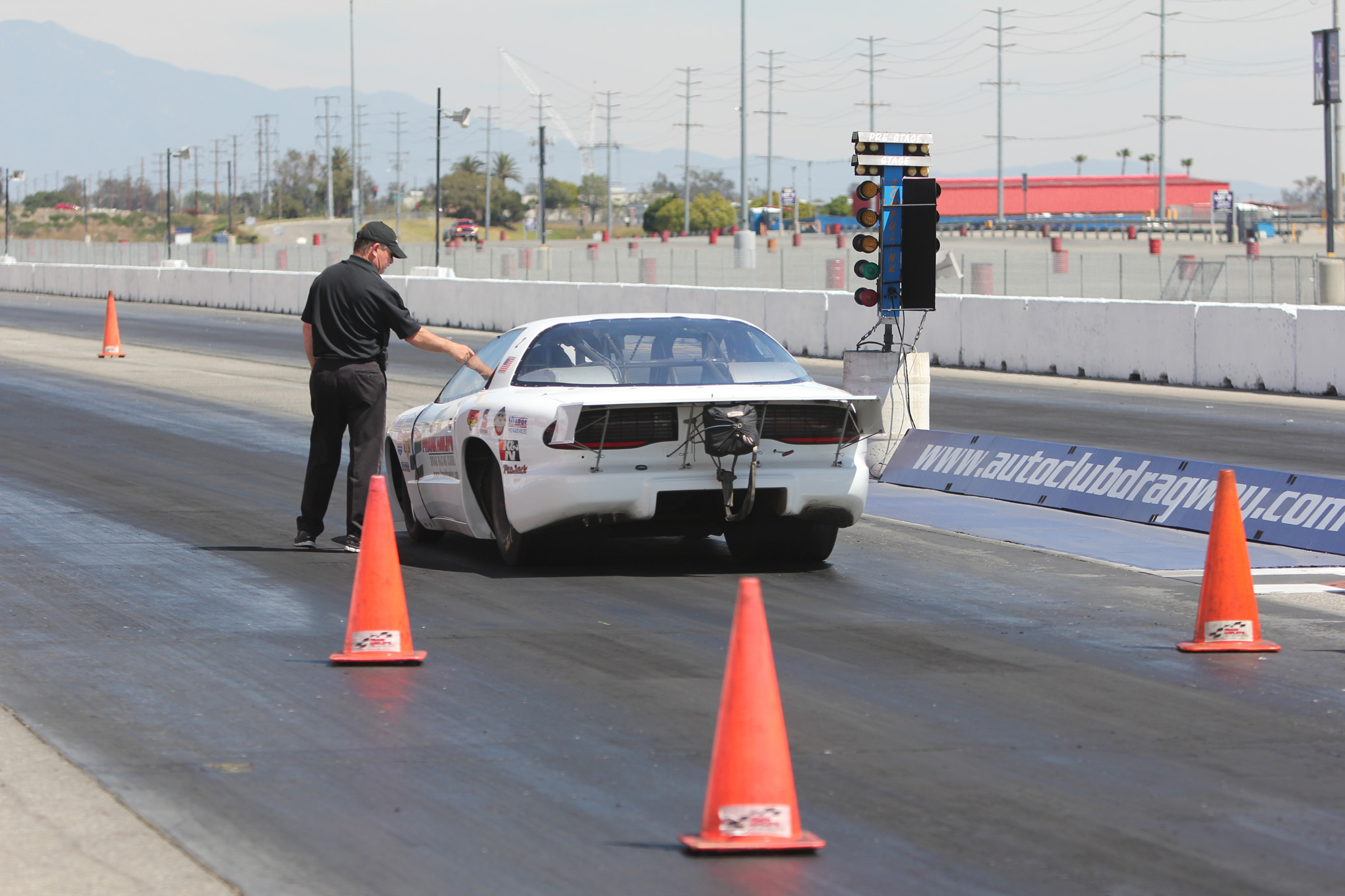 You are going to learn that the most important area in drag racing is where the car is staged. Hawley will help you visualize the entire race.