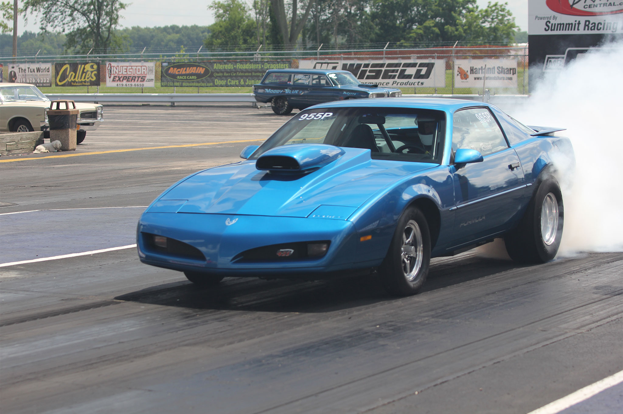 Car show, drag racing, swap meet, manufacturer's midway, and $1-a-pound ice cream. The Ames Performance Tri-Power Pontiac Nationals has it all.