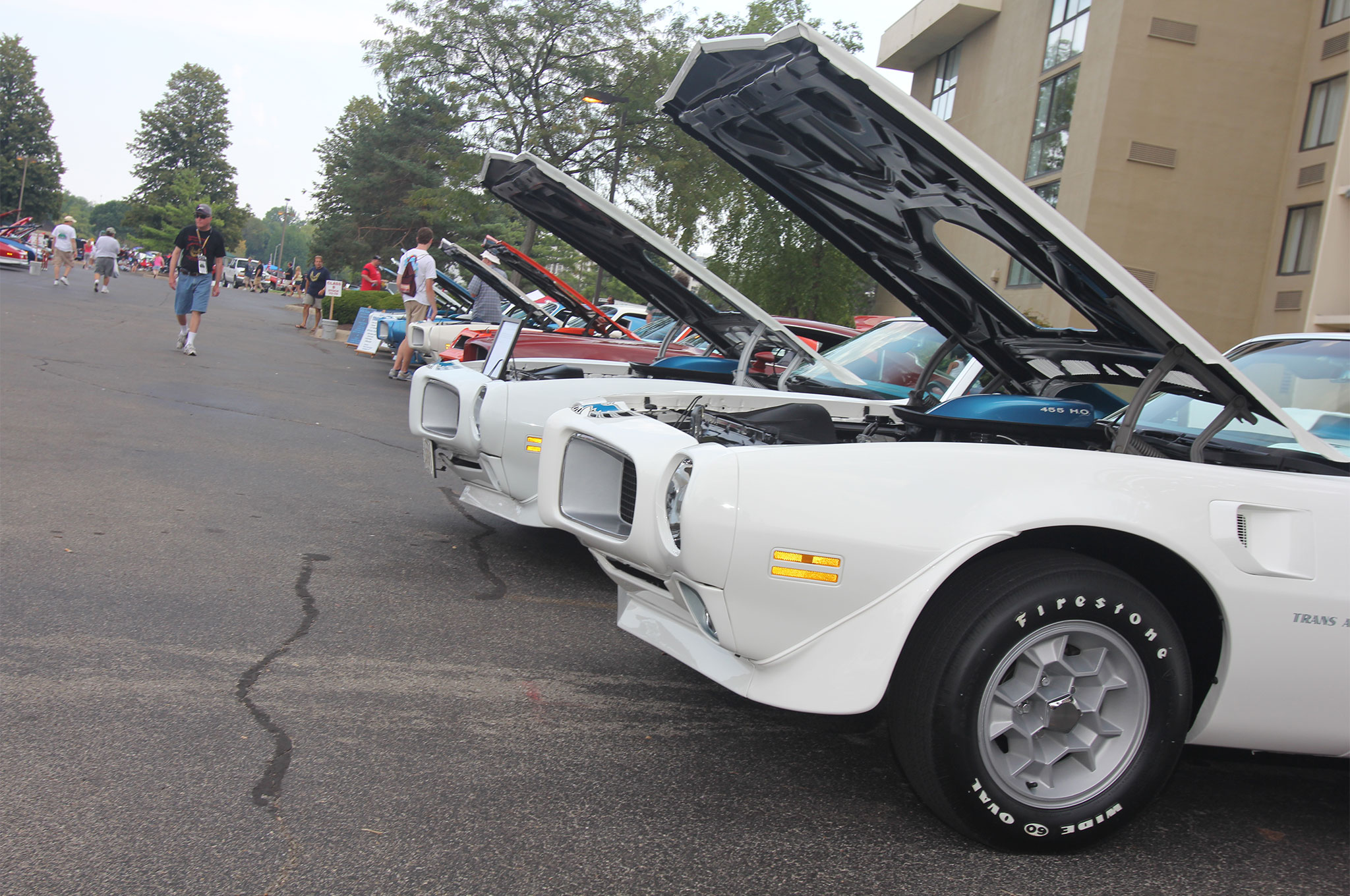 Trans Ams and Firebirds from all four generations make the Trans Am Nationals one of the Pontiac hobby's greatest events.