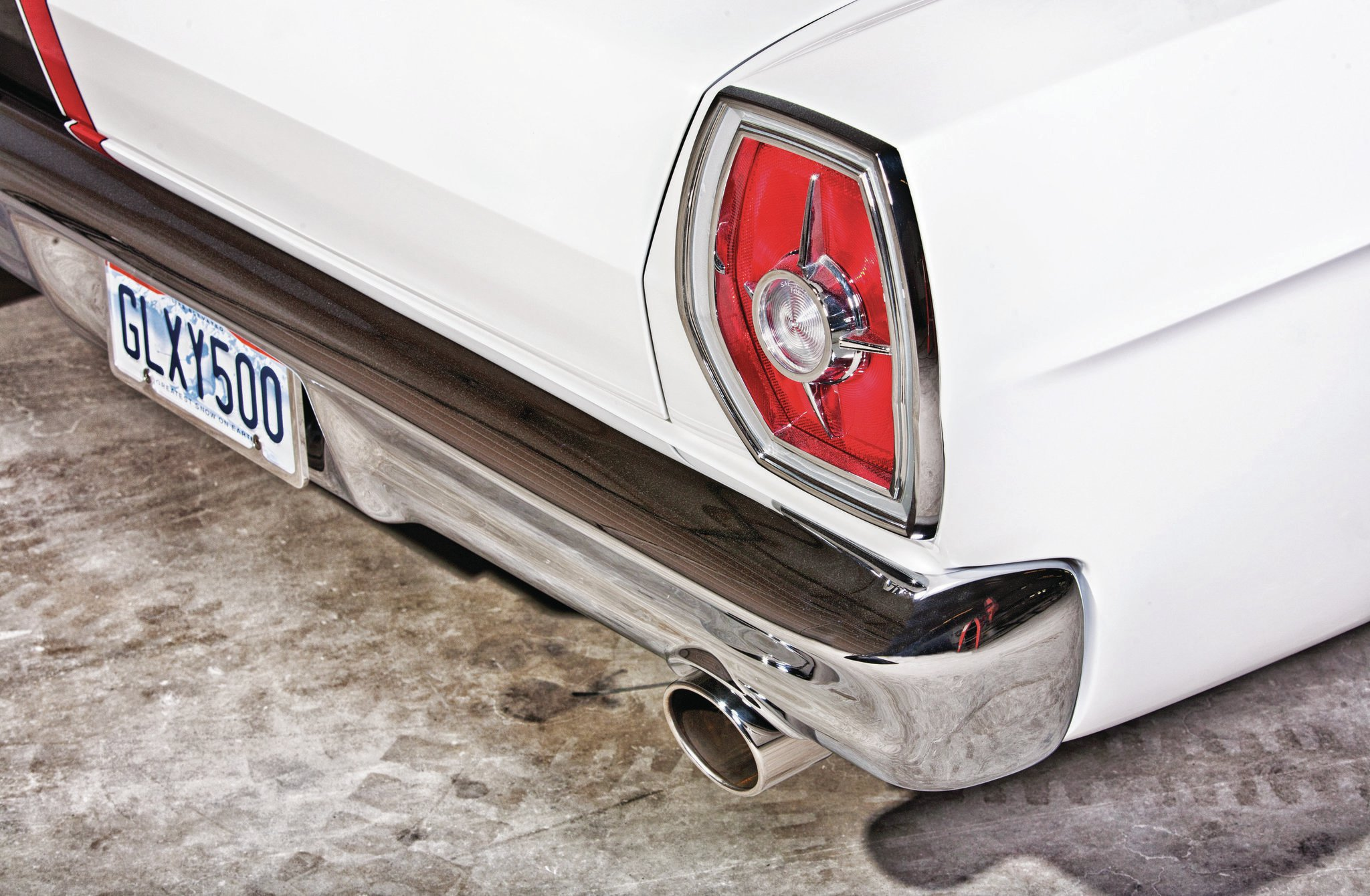 Like the front, the rear bumper and taillights fitment were tightened up to match the smooth look of the sheetmetal.
