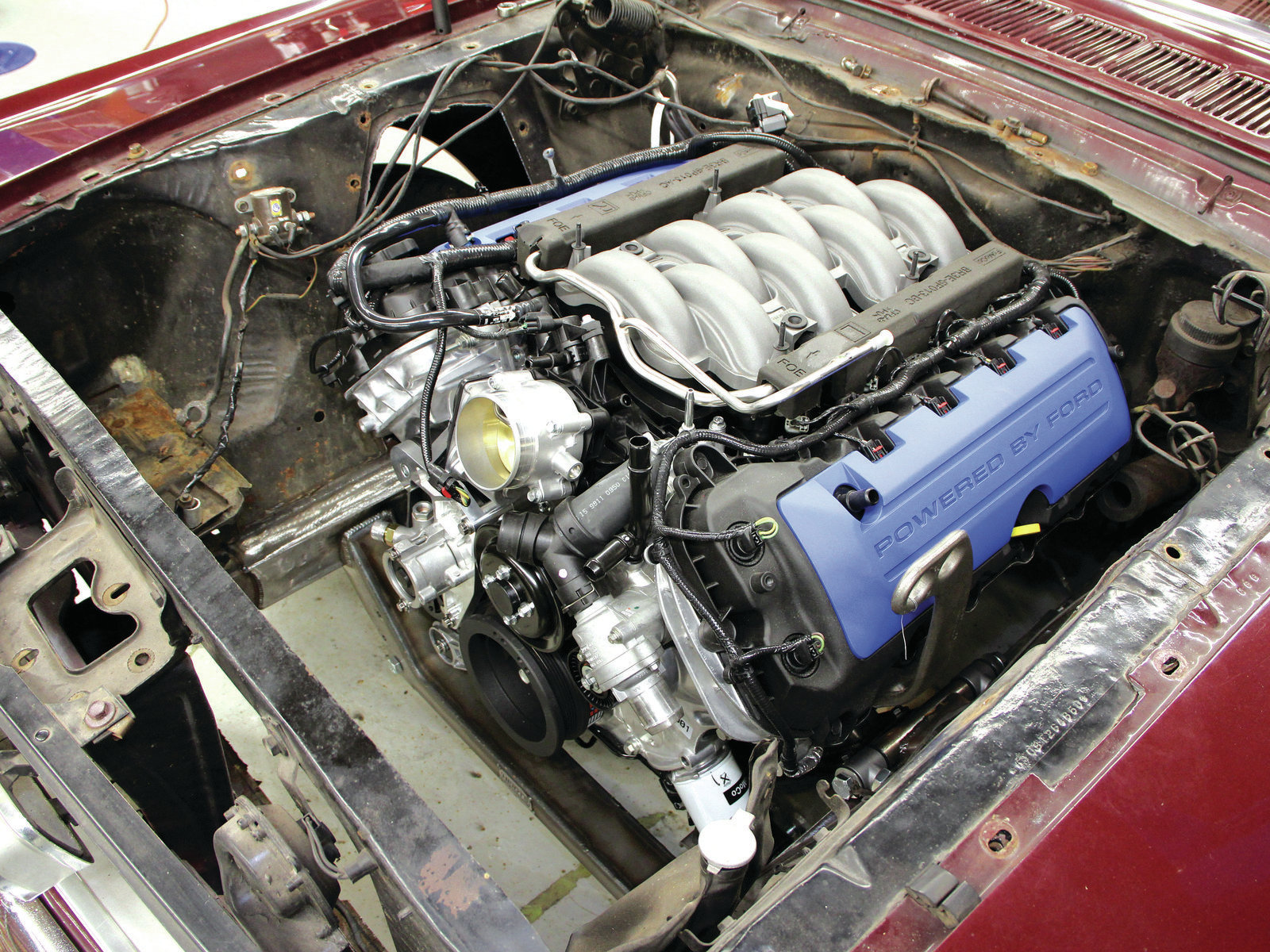 The Coyote Engine Swap Hot Rod Network Am Looking For A 1970 Ford Mustang V8 Wiring Harness
