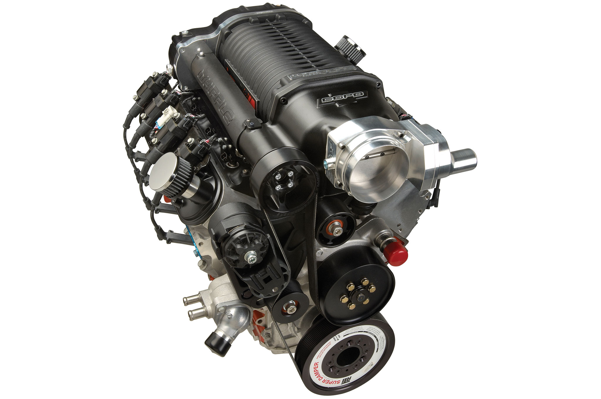 Have you seen the new GM Super Stock engines? You need this supercharged 5.3 in your Camaro.