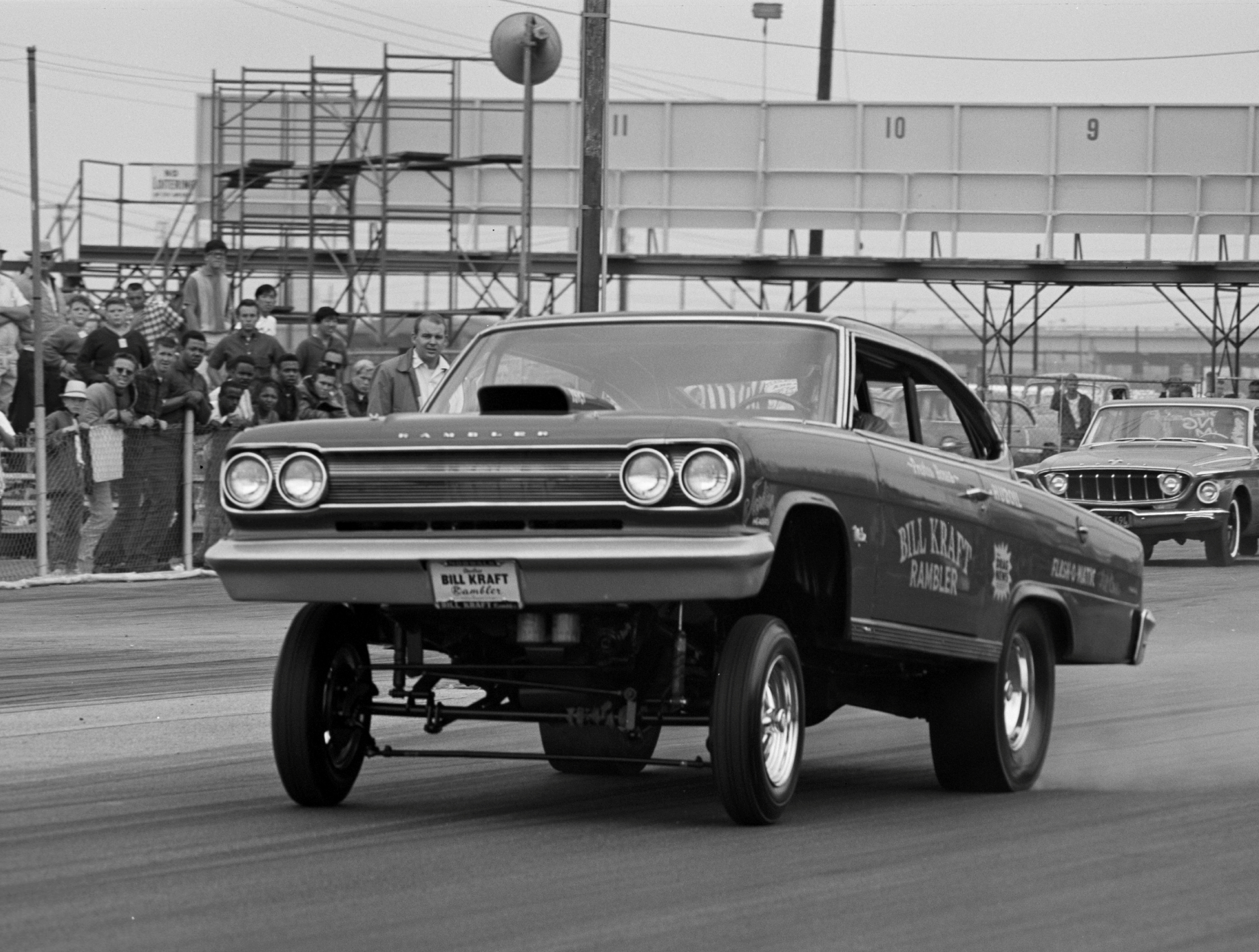 HOT ROD captured the Kraft Marlin's maiden shot at Lions in July '65. With the weight shift this beast is high ridin'.