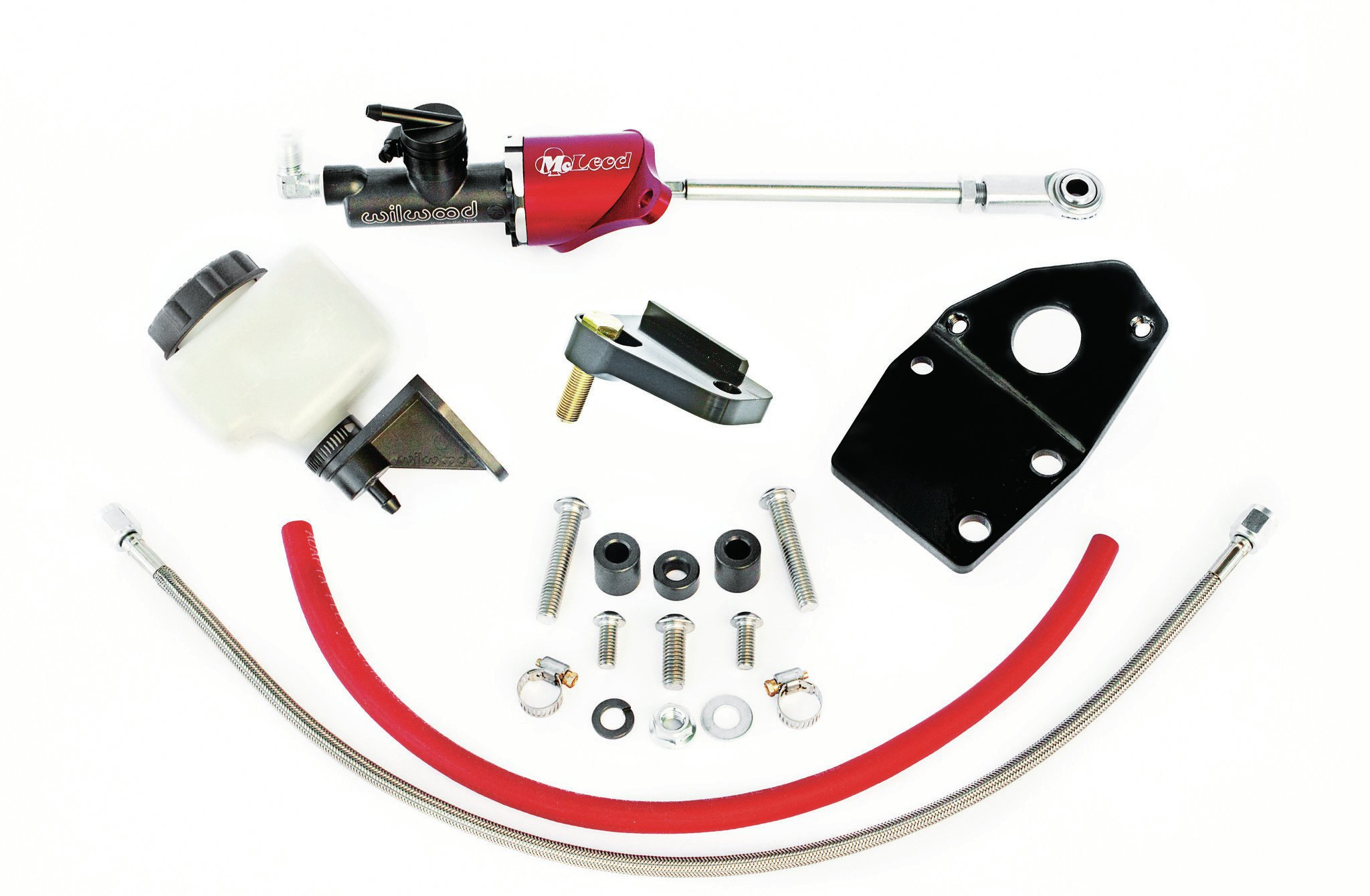 The hydraulic conversion kit includes all necessary parts except a hydraulic throwout bearing. The proper bearing will vary according to the combo's bellhousing, clutch design, and trans.