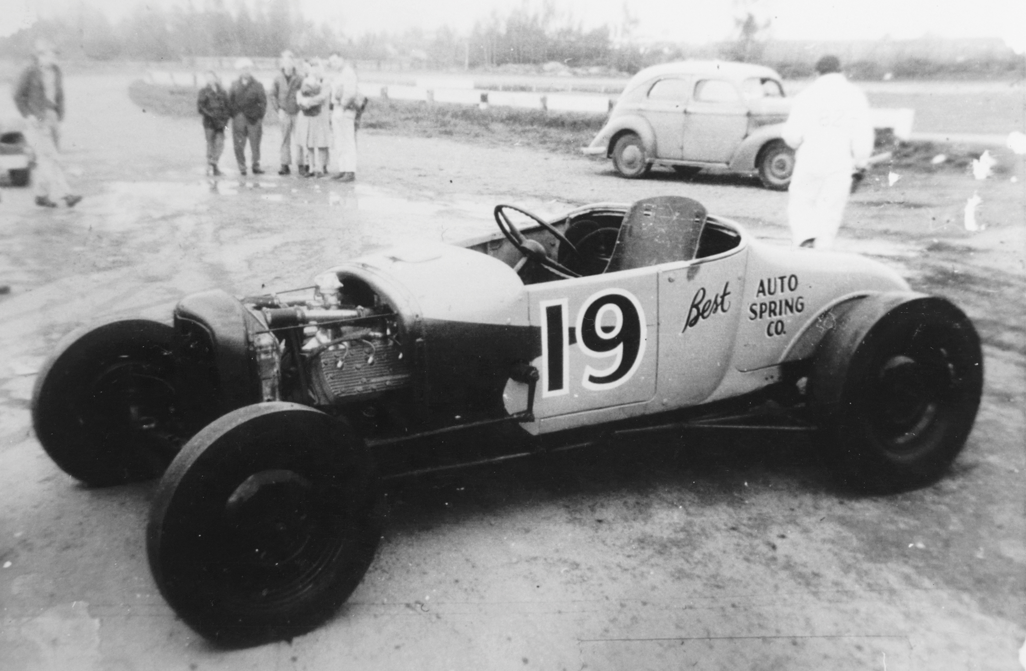 Dick Clevenger's '27 T was a front-running car in the Pacific Northwest in 1948. When it came up for sale as a roller for $425, Jack snapped it up.