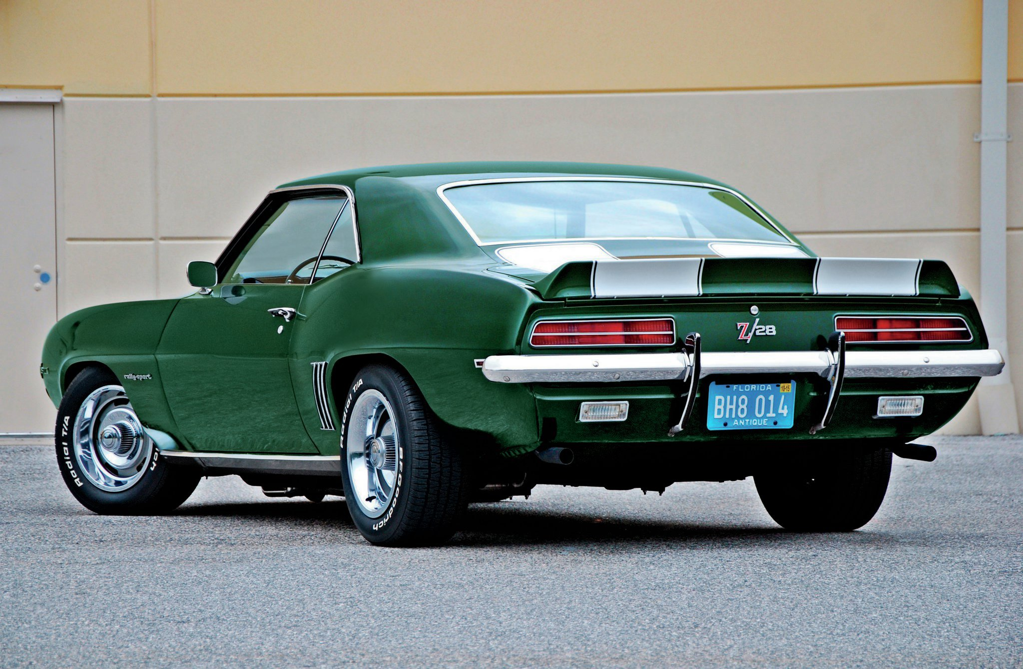 Ken Etten knew exactly what he wanted when he ordered his Camaro in October 1968: a Z/28 with the RS appearance package, Fathom Green paint, white stripes, and a green interior. Except for a 1976 repaint, it remains in remarkably well-kept, original condition.