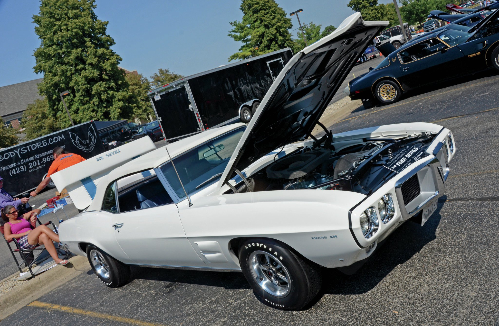 Pontiac only made 697 '69 Trans Ams, eight of which were convertibles, and this is one of them.