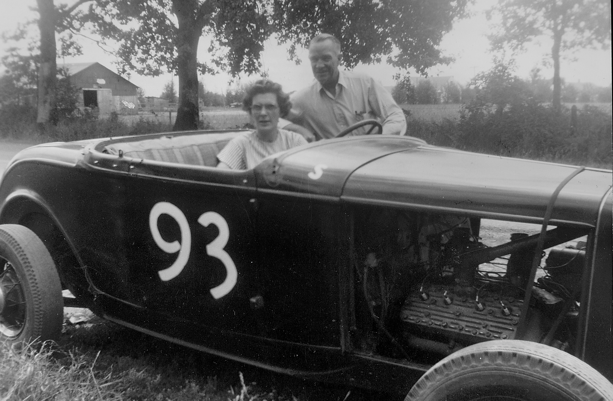Jack was fortunate that his parents, Eva and Dewey Greiner, were proud supporters of his racing. Jack was unaware that Dewey carried a picture of one of his race cars in his wallet, and found out only after his dad passed away.