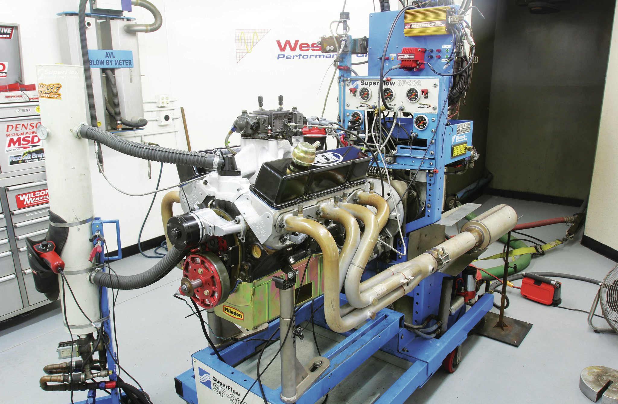 If it's a normally aspirated engine that gets you all tingly, Steve Brulé at Westech Performance recently tested a 355ci small-block Chevy with a set of Crane hydraulic roller lifters that he spun up to 8,500 rpm with no loss of valve control. The motor made 412 lb-ft of torque at 7,500 rpm. With bigger heads and a longer-duration cam that could've sustained this torque curve to 8,500 rpm, it would've raised the power number to 666 hp.